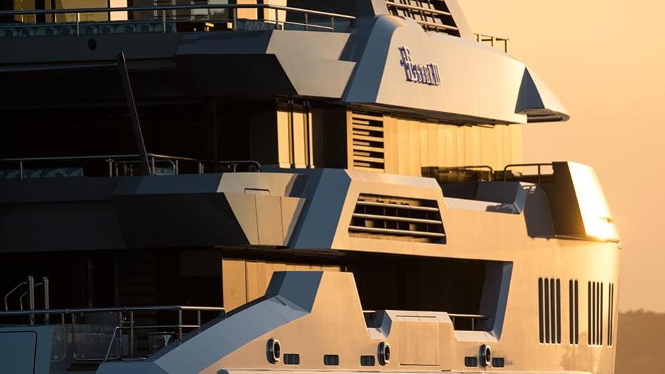 iroquois ester iii motor yacht lurssen 2014 66m stern profile