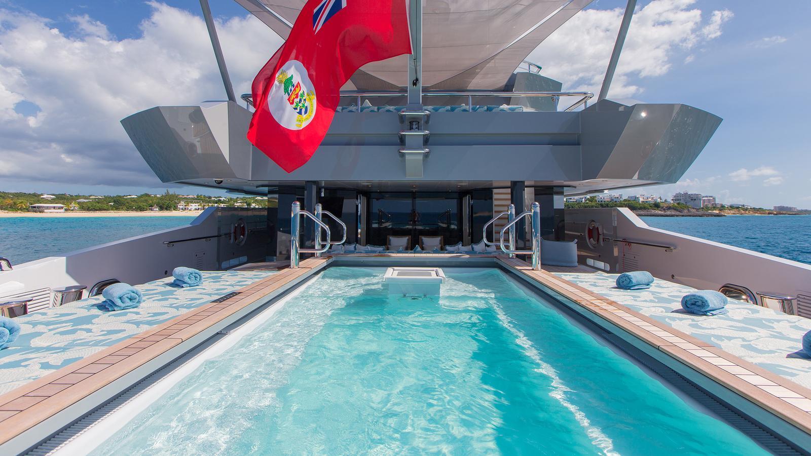 iroquois ester iii motor yacht lurssen 2014 66m swimming pool