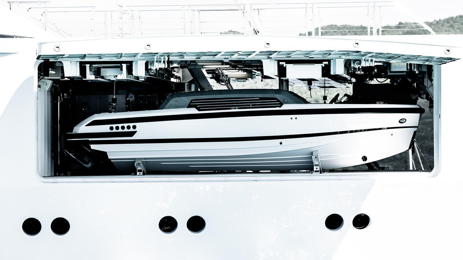iroquois ester iii motor yacht lurssen 2014 66m tender garage