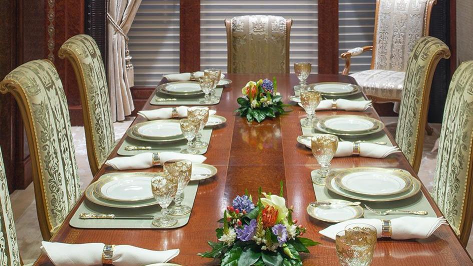 iroquois ester iii motor yacht lurssen 2014 66m dining room