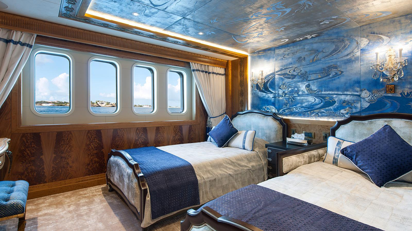 iroquois ester iii motor yacht lurssen 2014 66m twin cabins