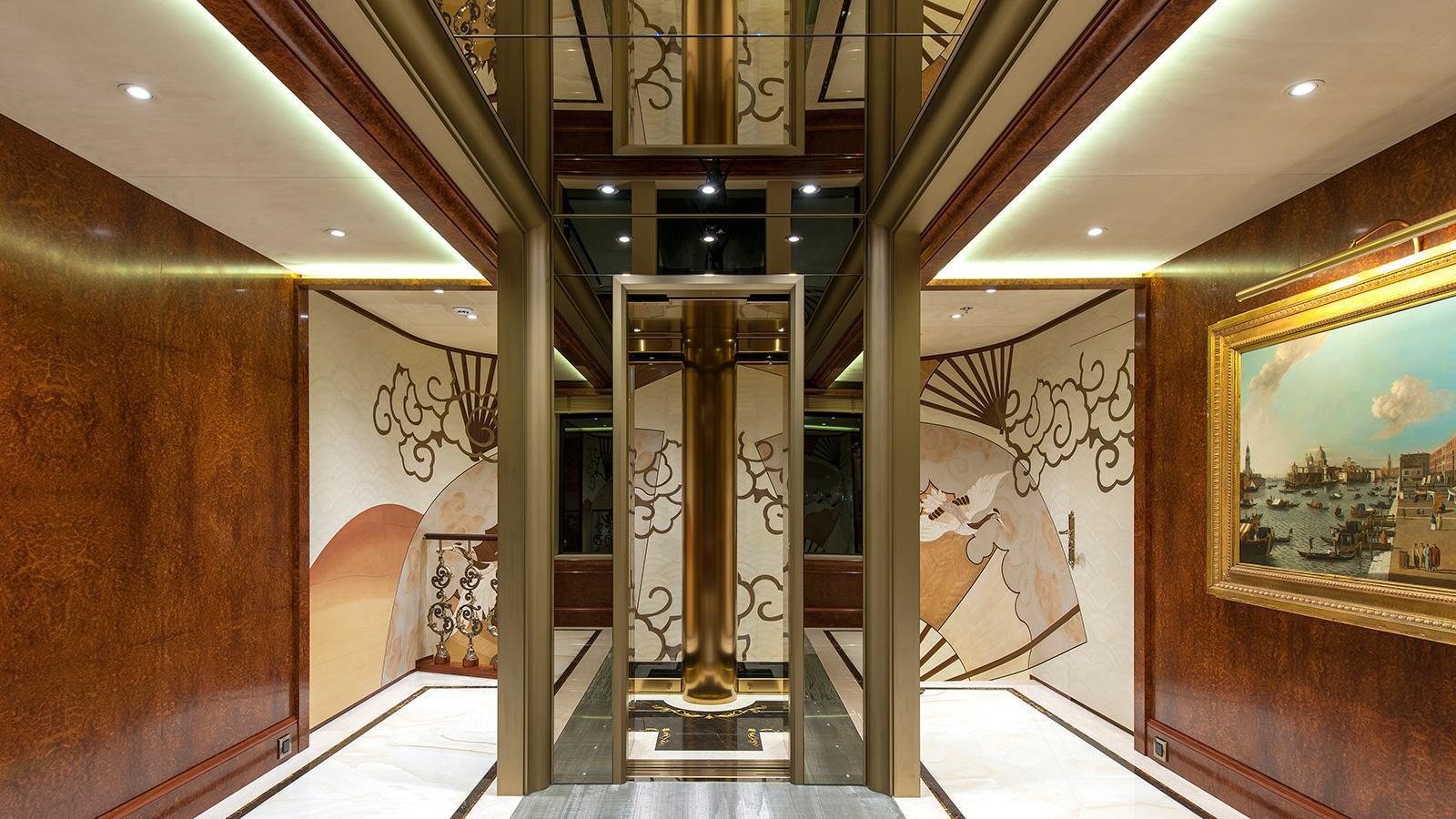 iroquois ester iii motor yacht lurssen 2014 66m lobby