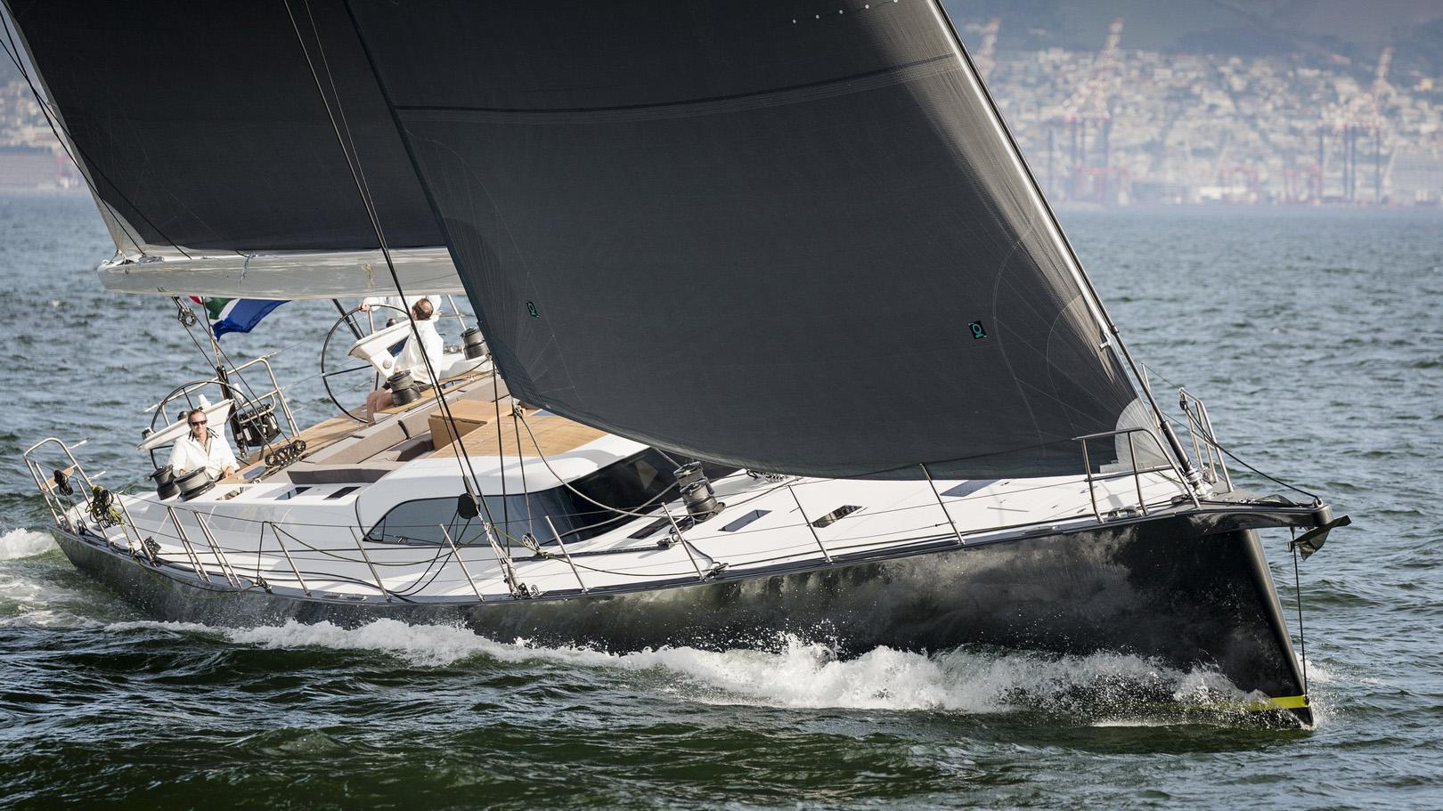 ammonite sailing yacht sws 2016 25m running half profile