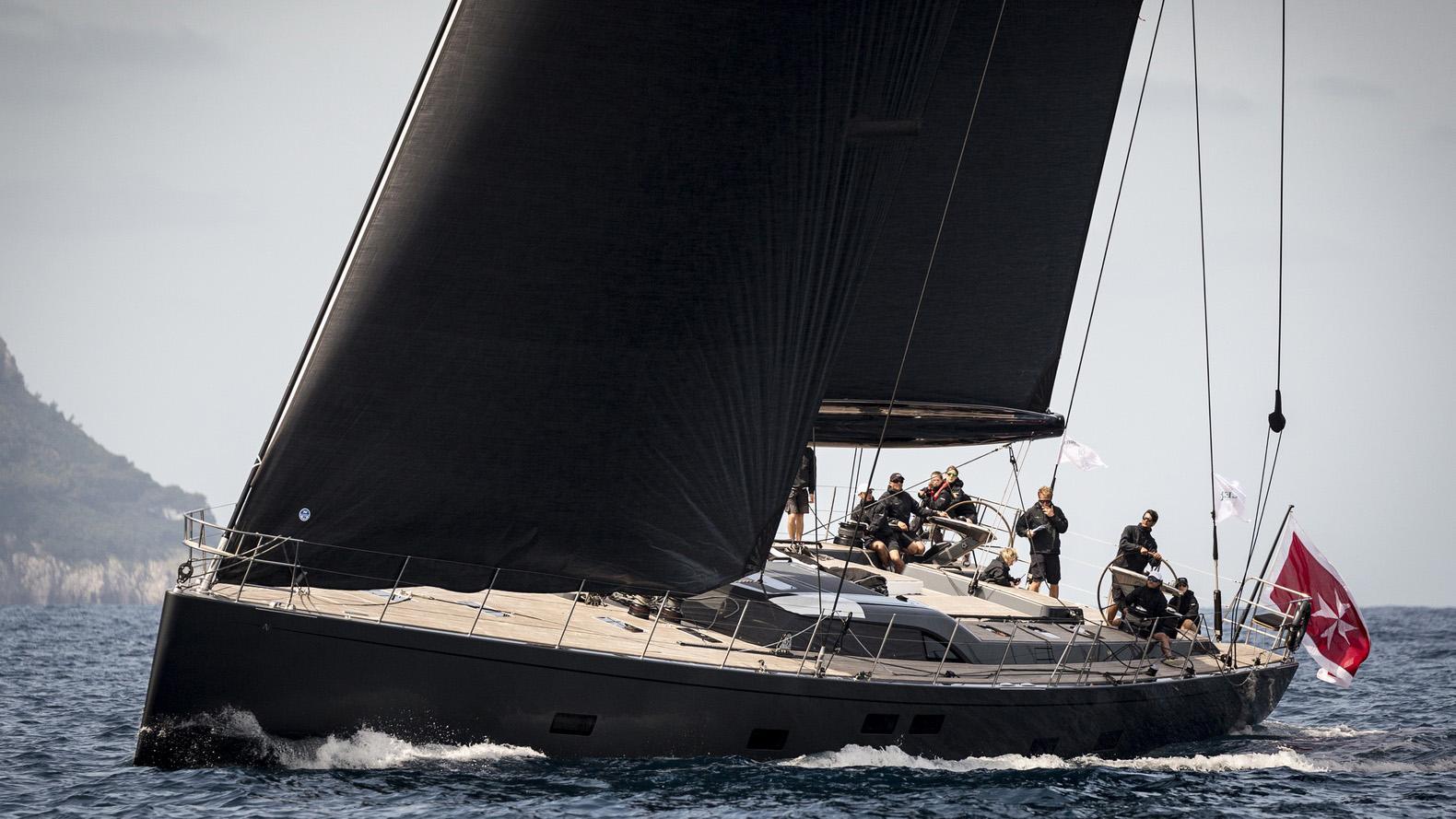 seawave sailing yacht sws 2015 32m running half profile