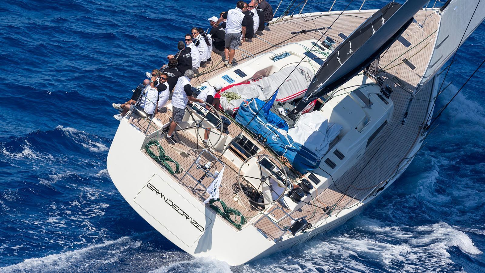 grande orazio sailing yacht sws 2014 25m running half stern