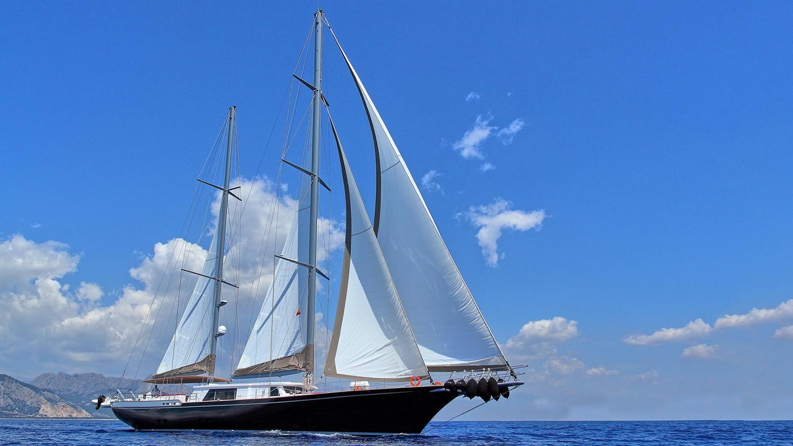 moss sailing yacht vos marine 2016 40m running profile