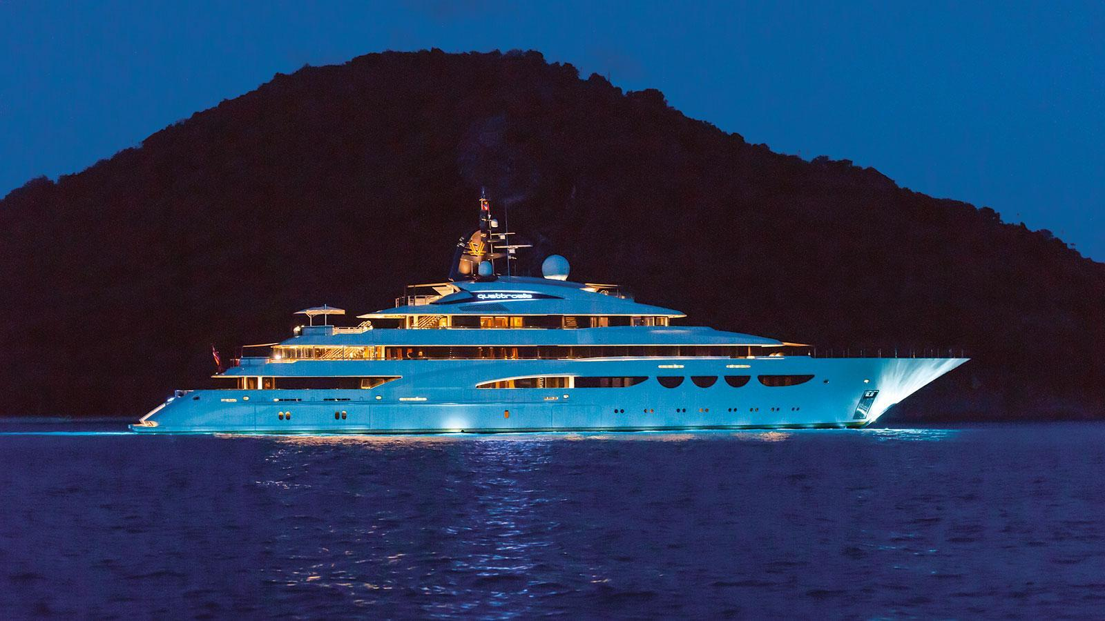 quattroelle-motor-yacht-lurssen-2013-86m-profile-at-night