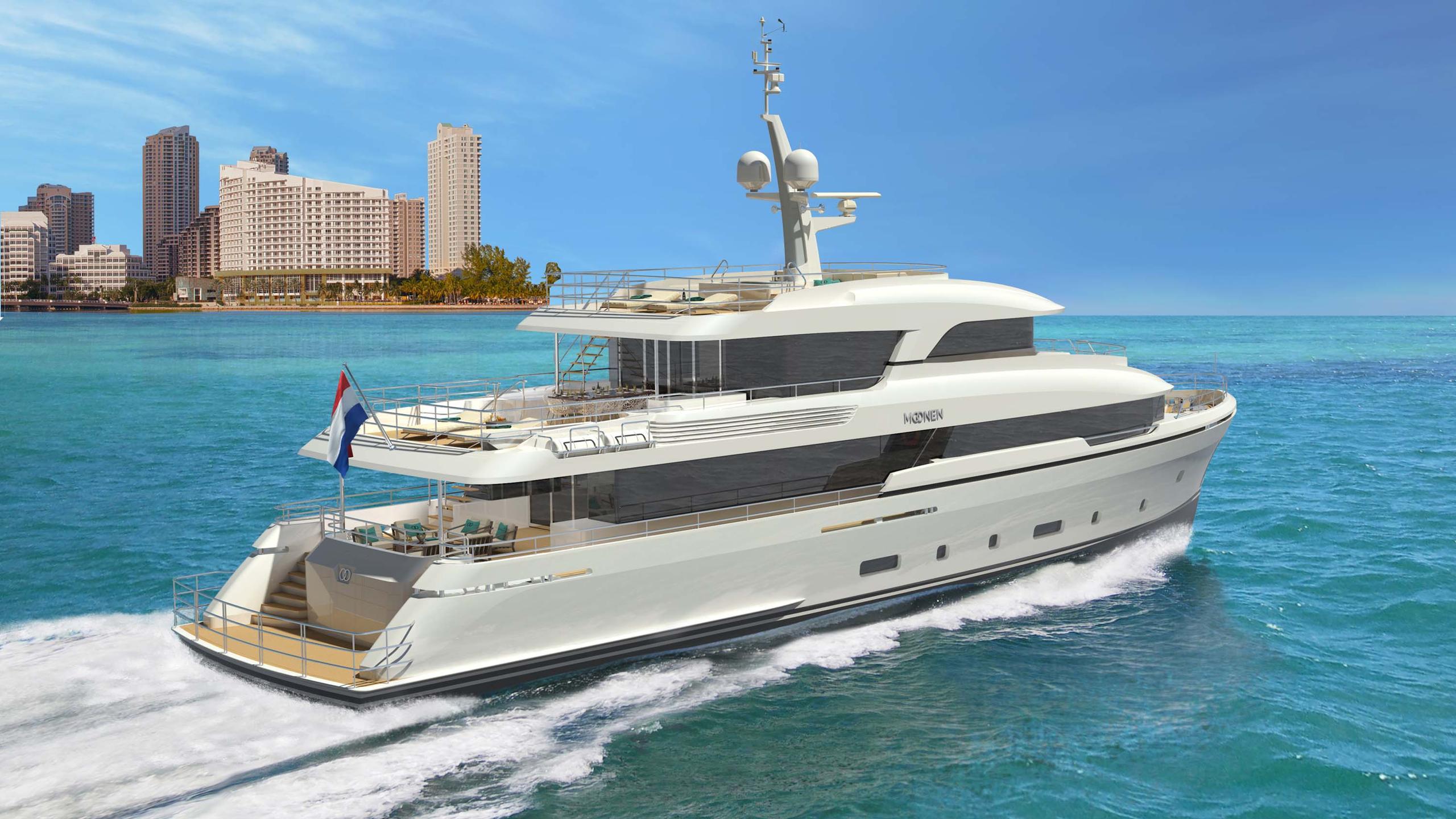 martinique motoryacht moonen 2018 36m rendering half stern cruising