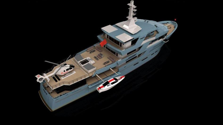 project-ranger-explorer-yacht-turquoise-2016-58m-rendering-aerial