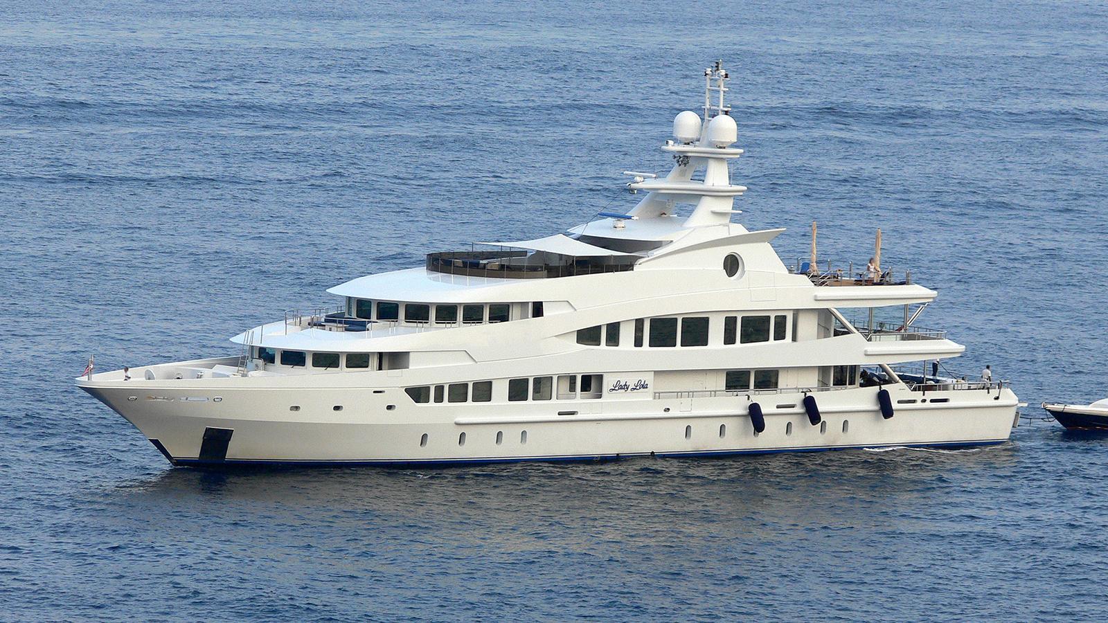 lucky lady lady lola motoryacht oceanco 2002 63m profile