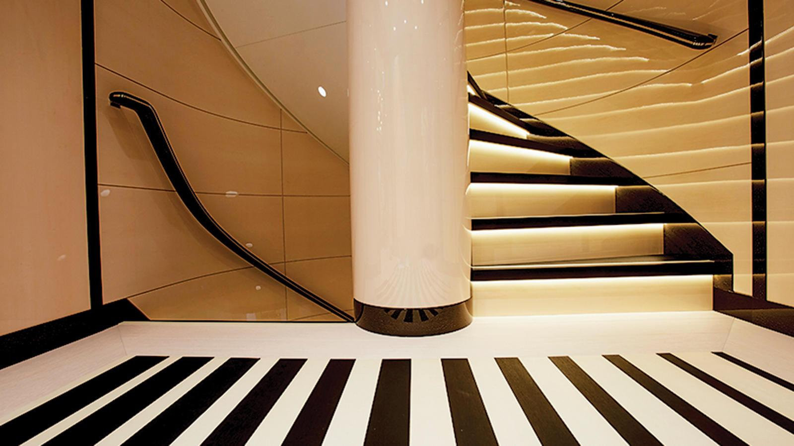 madame-kate-motor-yacht-amels-1999-62m-2015-staircase