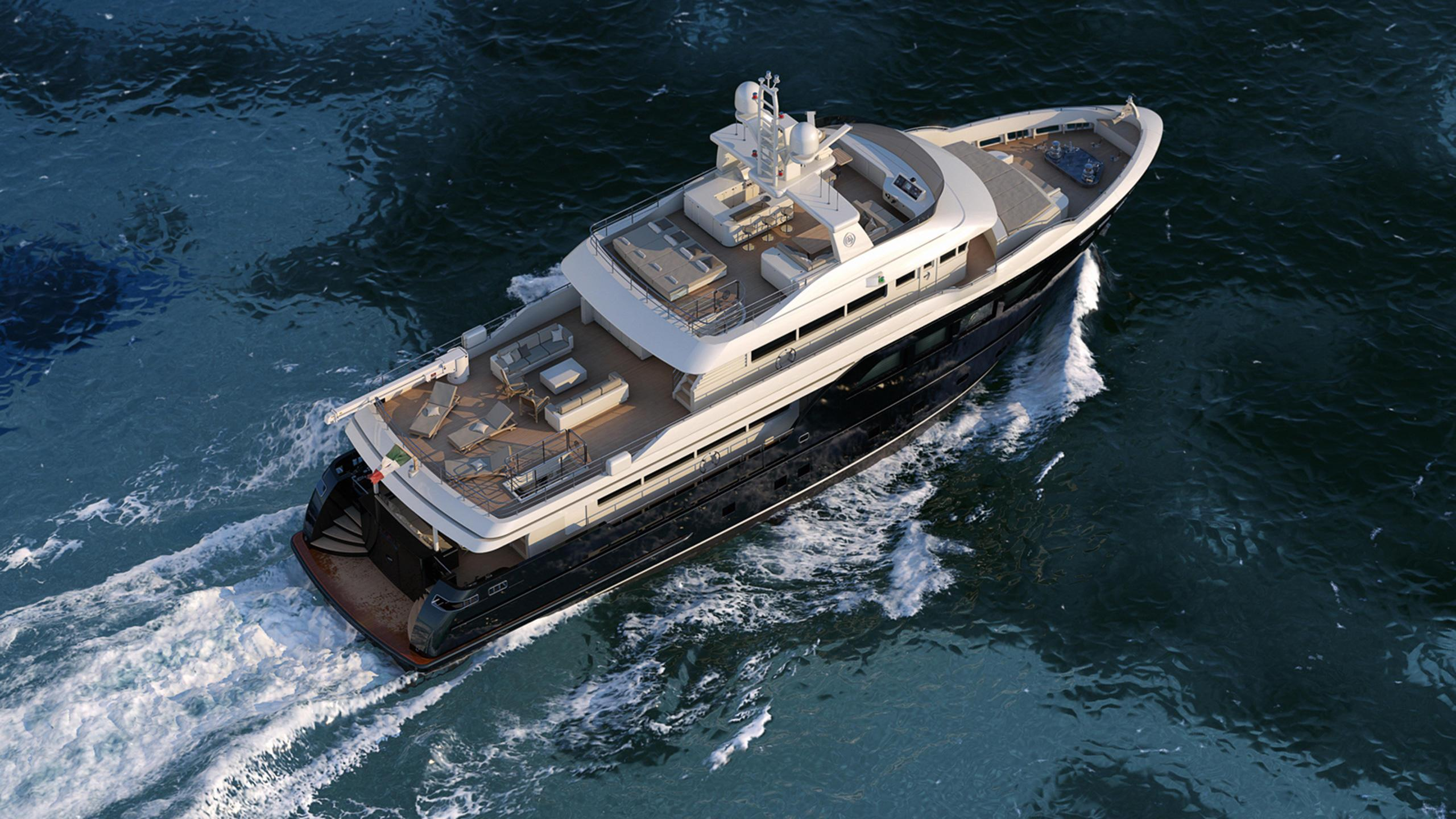 storm-motor-yacht-cantiere-dell-marche-darwin-107-2015-33m-aerial