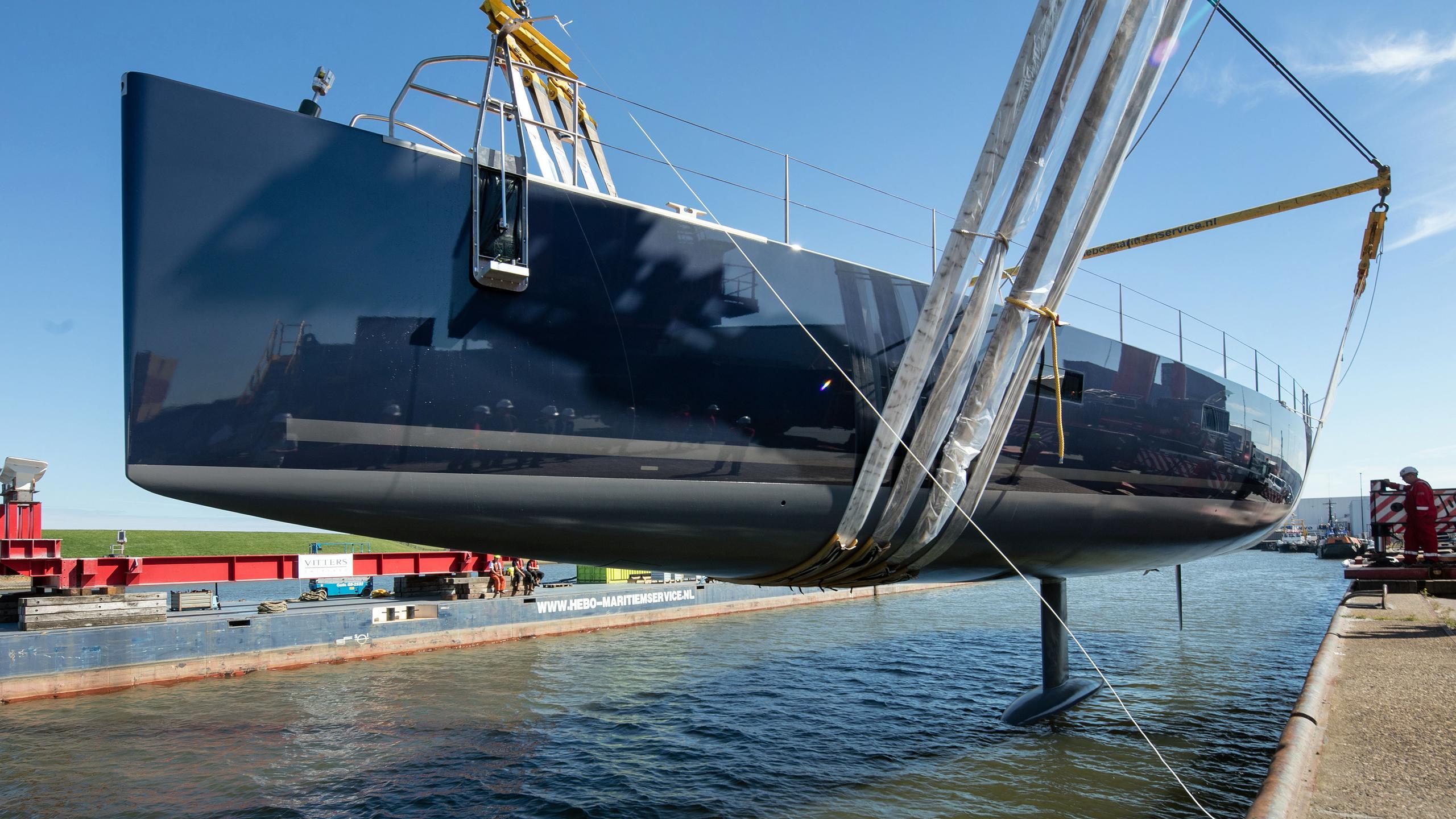 missy sailing yacht vitters 2016 33m launch