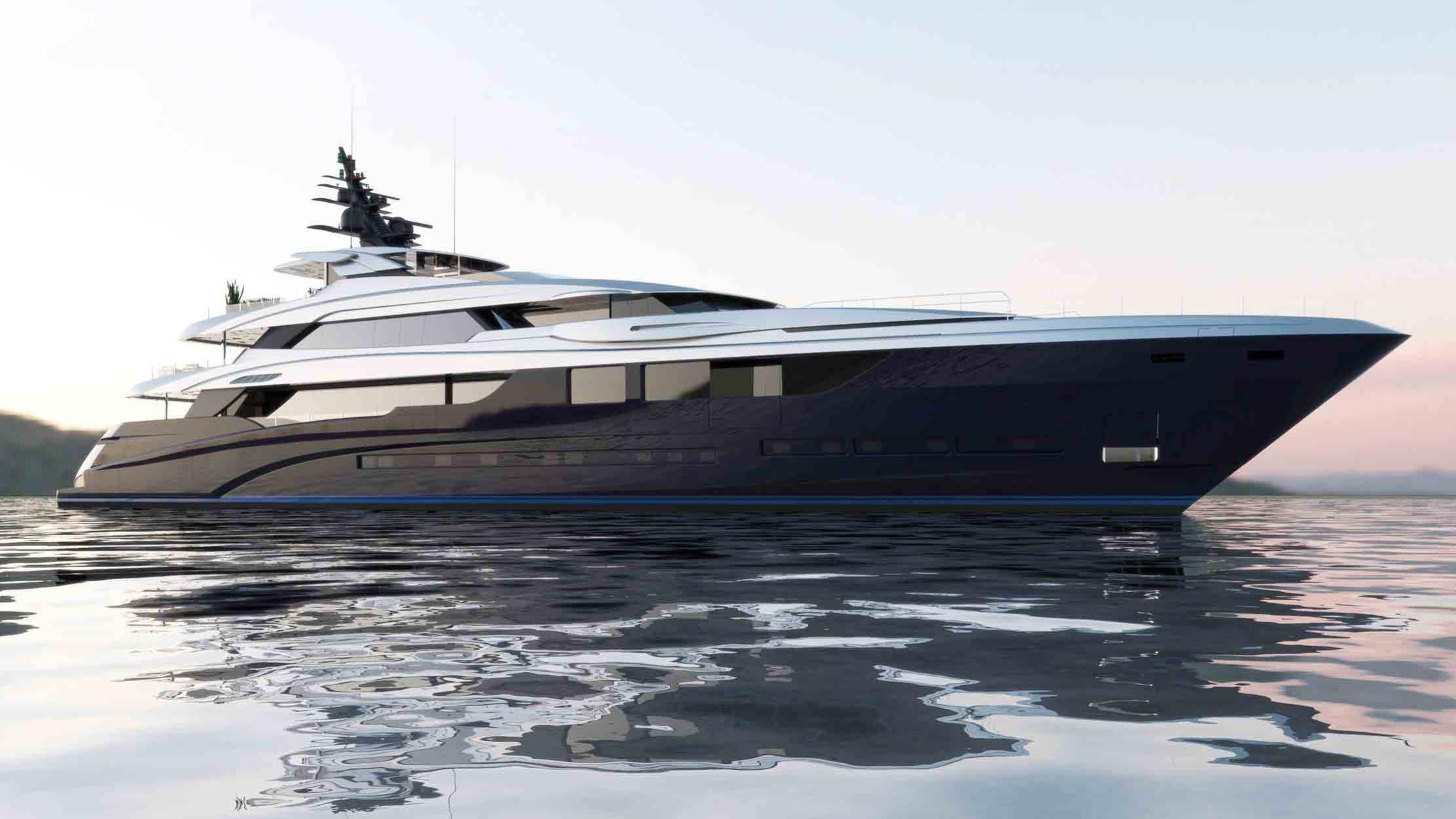 sarastar motoryacht mondomarine 2016 60m rendering