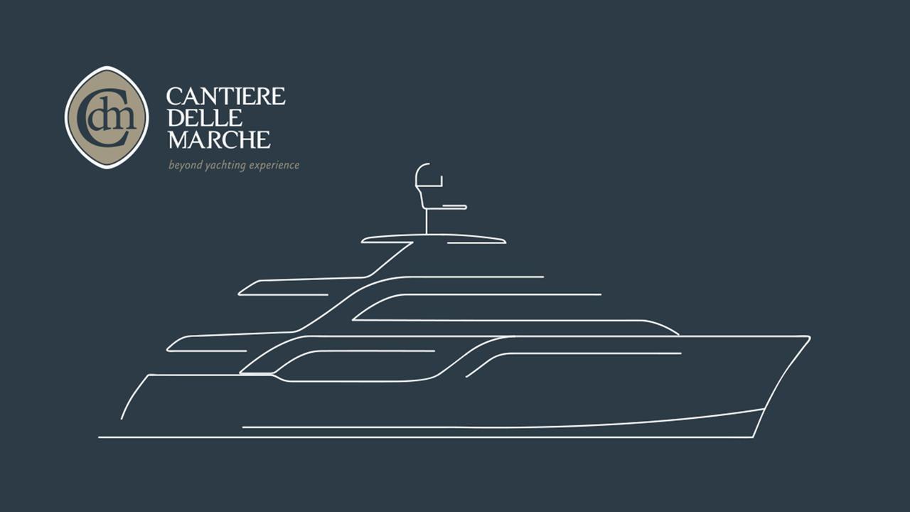 gatto cdm acciaco 105 explorer yacht cantiere delle marche 2018 32m rendering