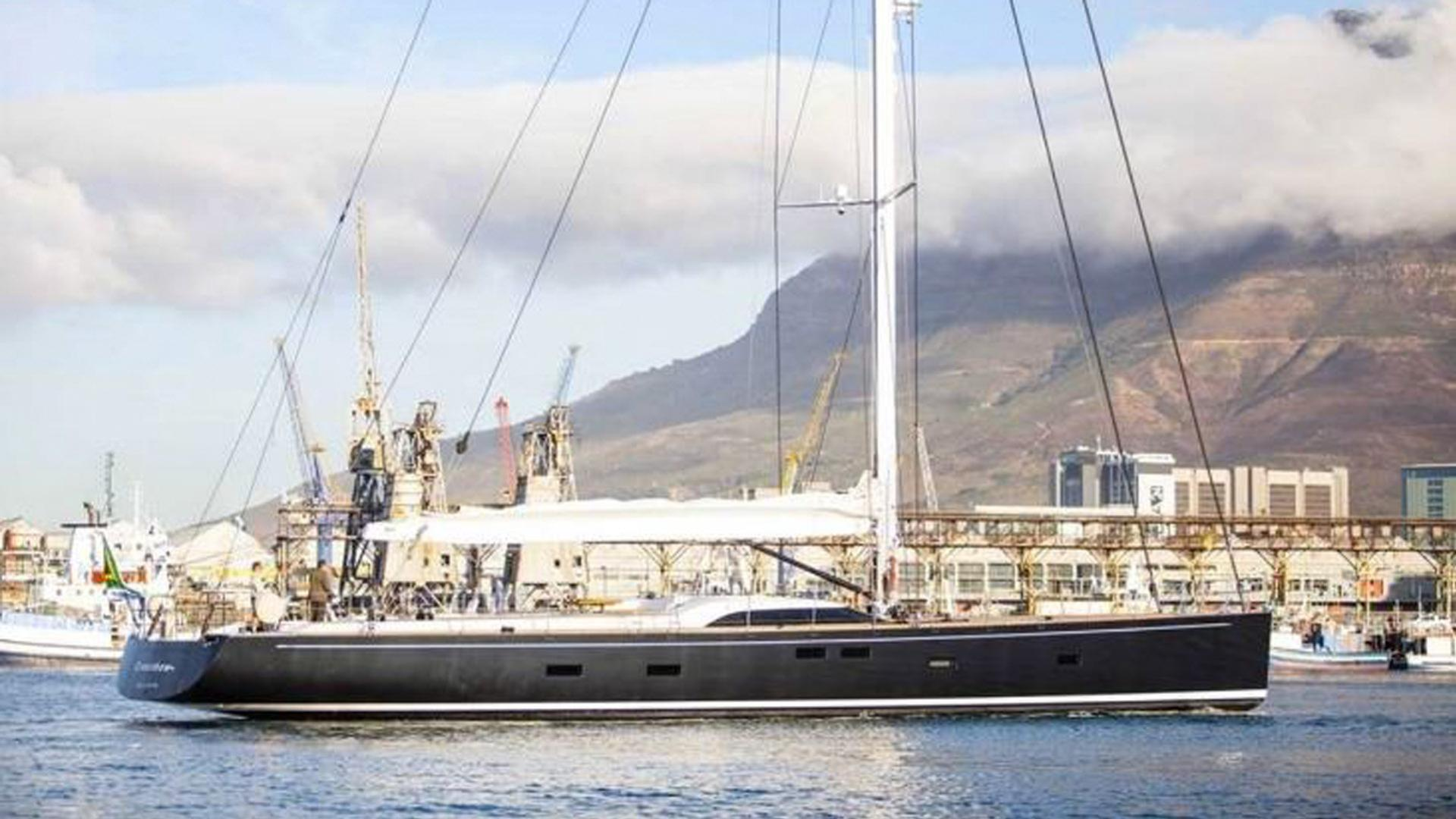 crossbow sailing yacht southern wind shipyard sws 102 2016 32m profile