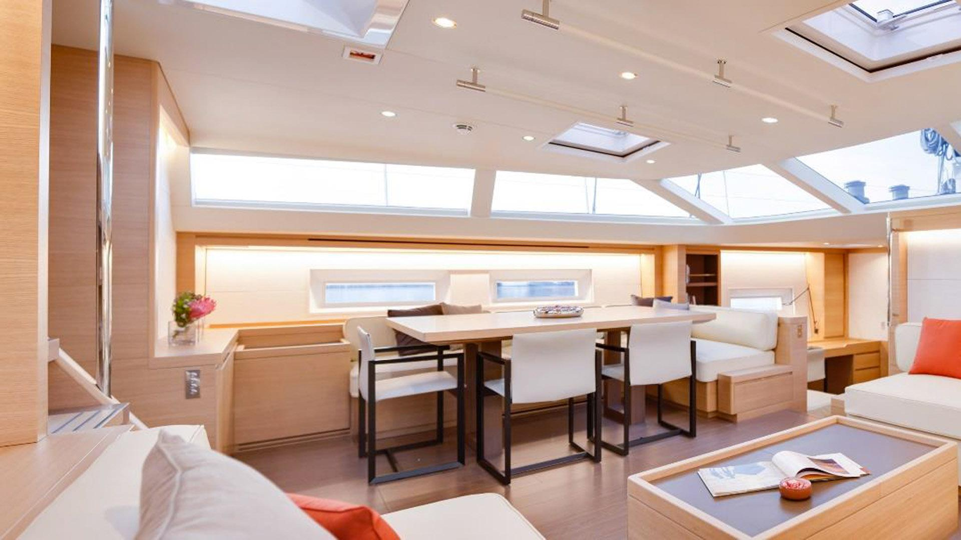 crossbow sailing yacht southern wind shipyard sws 102 2016 32m dining area