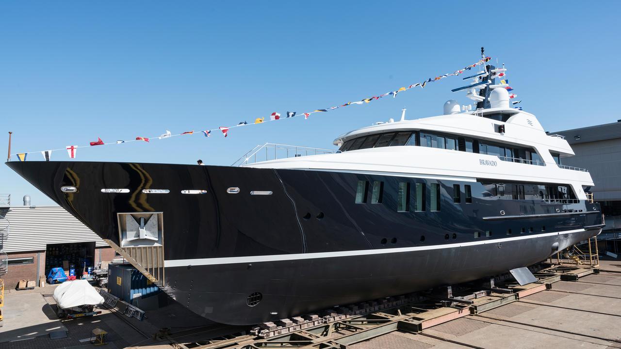 bravado motor yacht abeking rasmussen 2004 45m balk refit