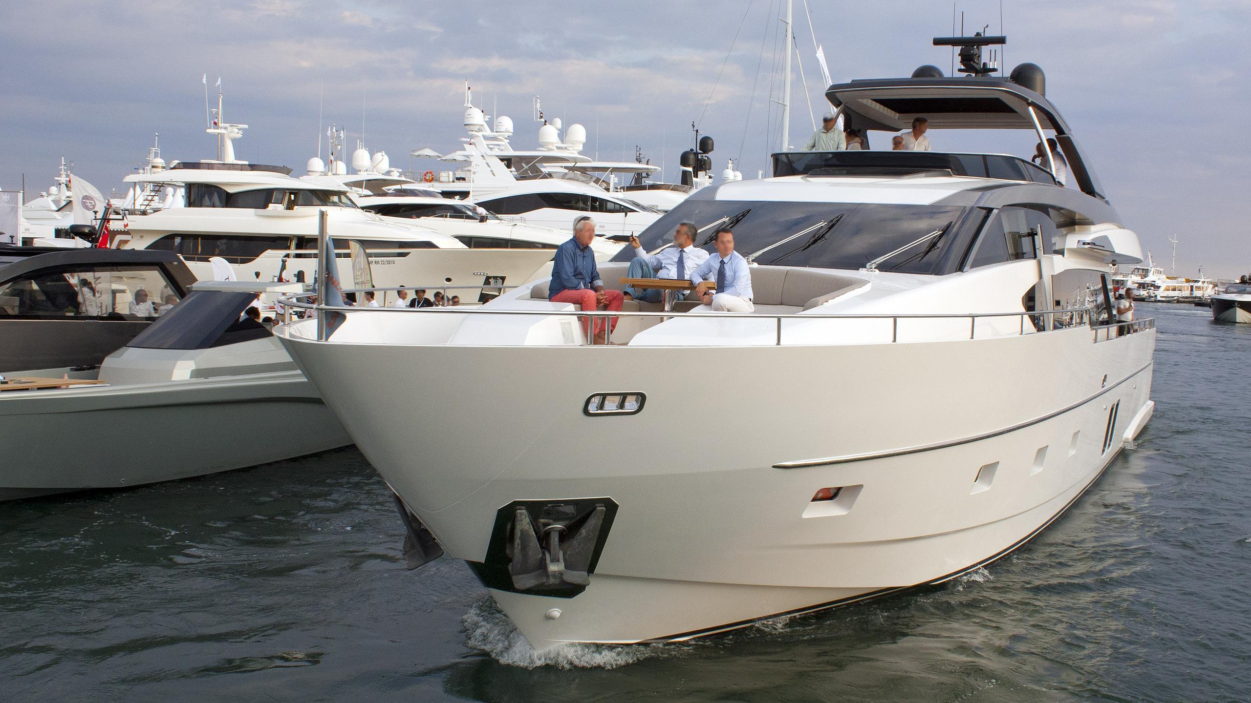 adriatic motor yacht sanlorenzo sl 86 2015 27m half profile