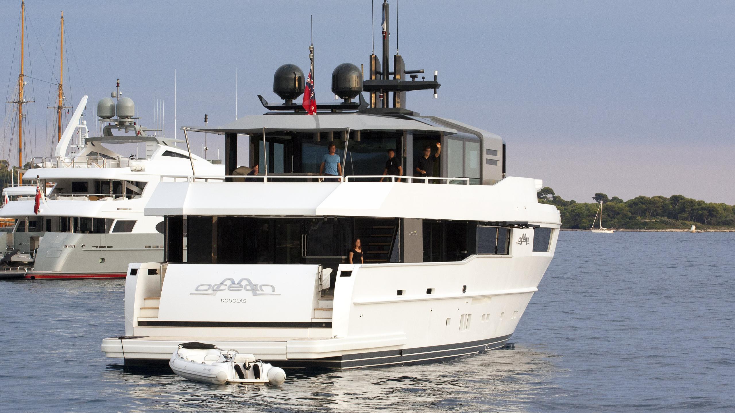 m ocean motoryacht arcadia yachts 2012 35m half stern