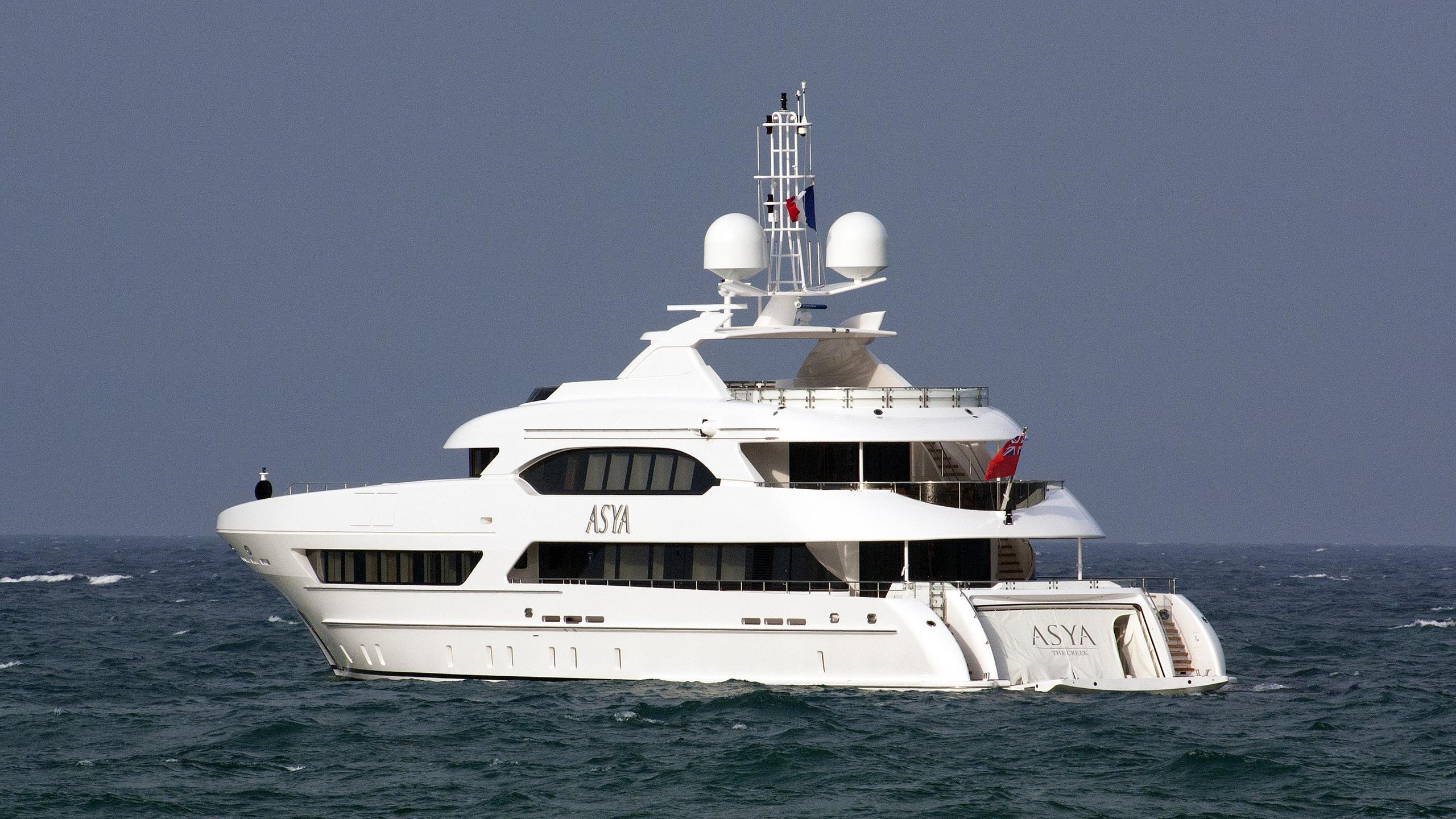 asya motoryacht heesen yachts 2015 47m half stern