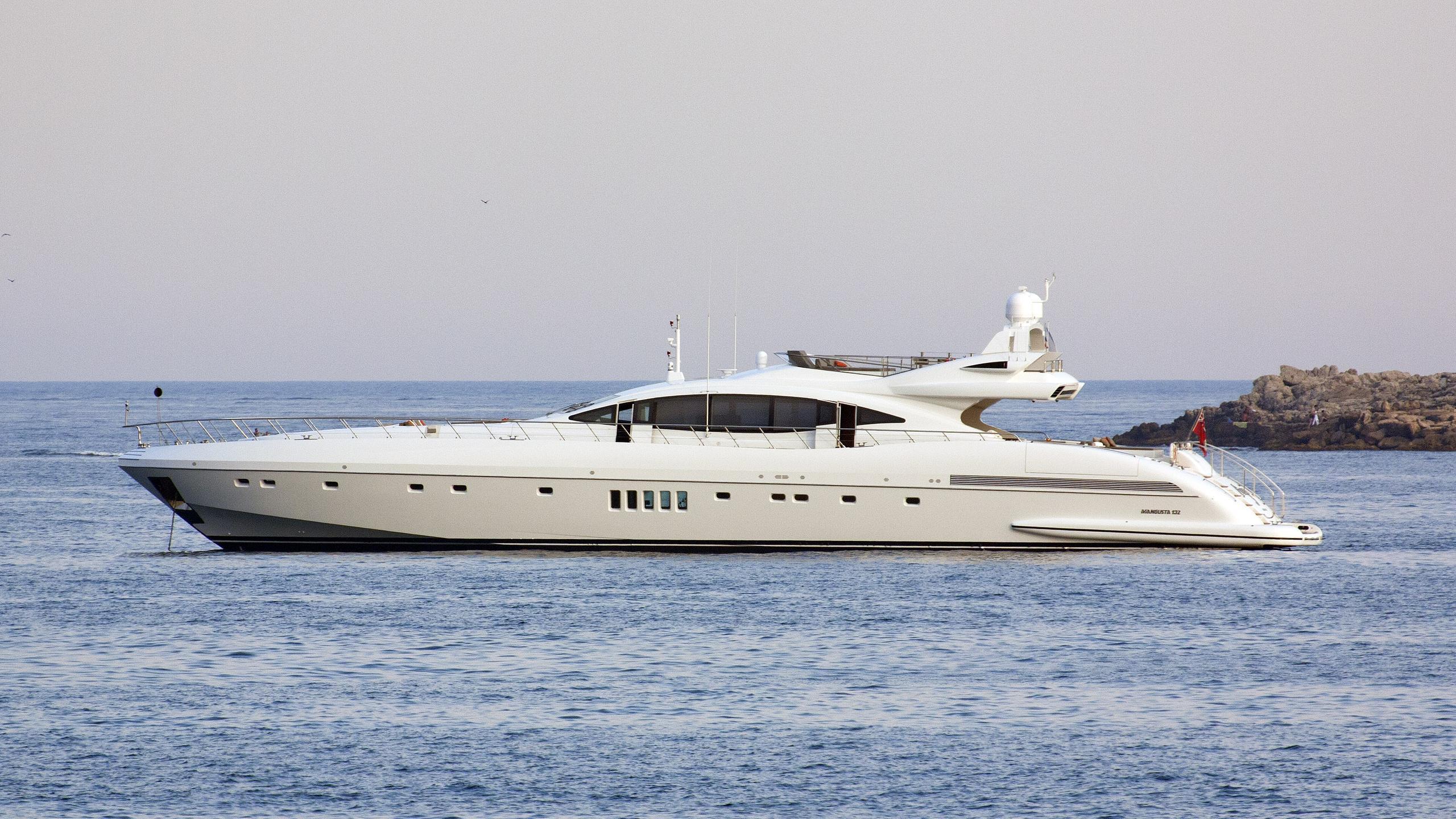 asya motoryacht overmarine mangusta 132 2015 40m profile