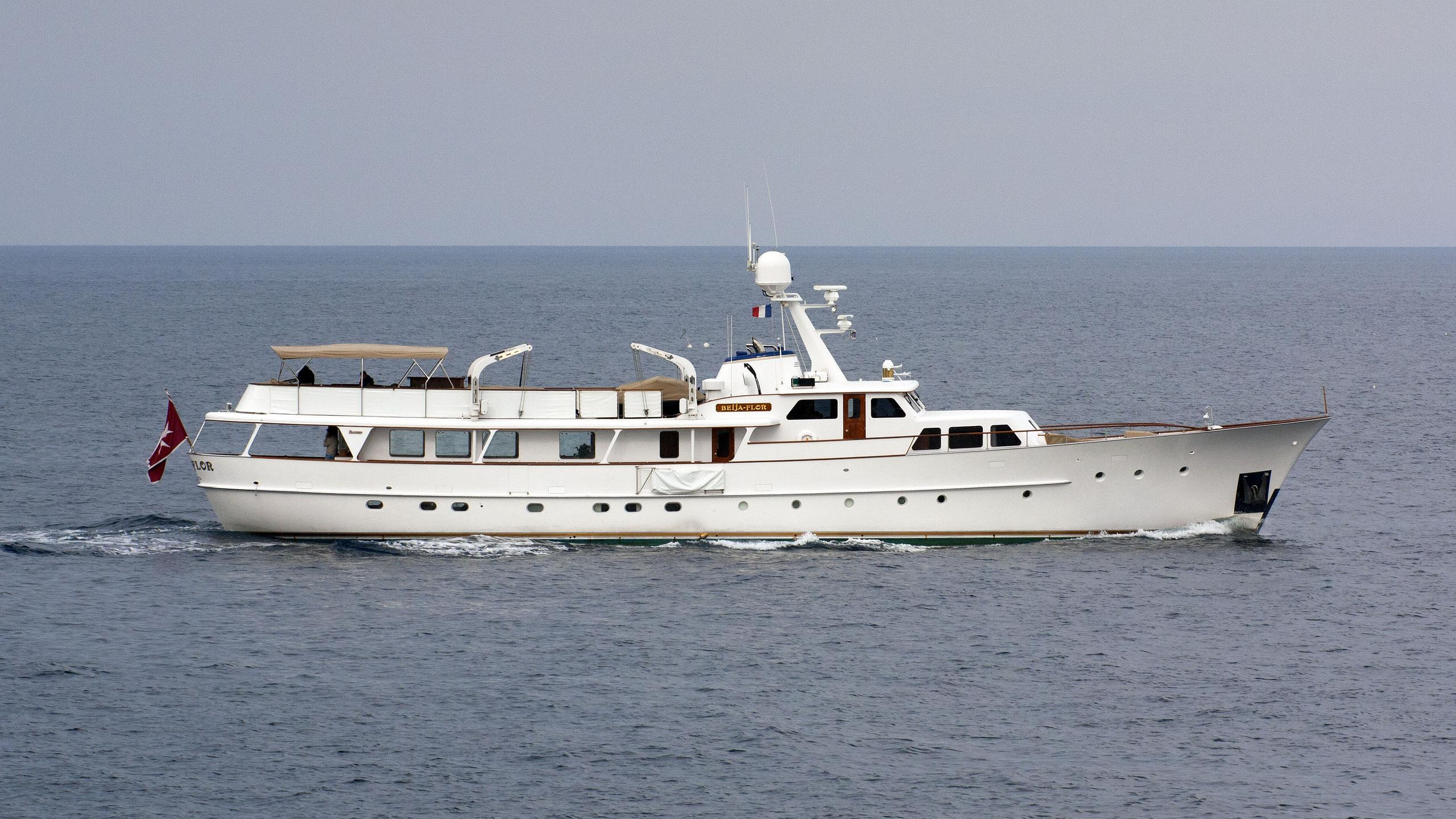 beija flor motoryacht feadship 1968 35m running profile