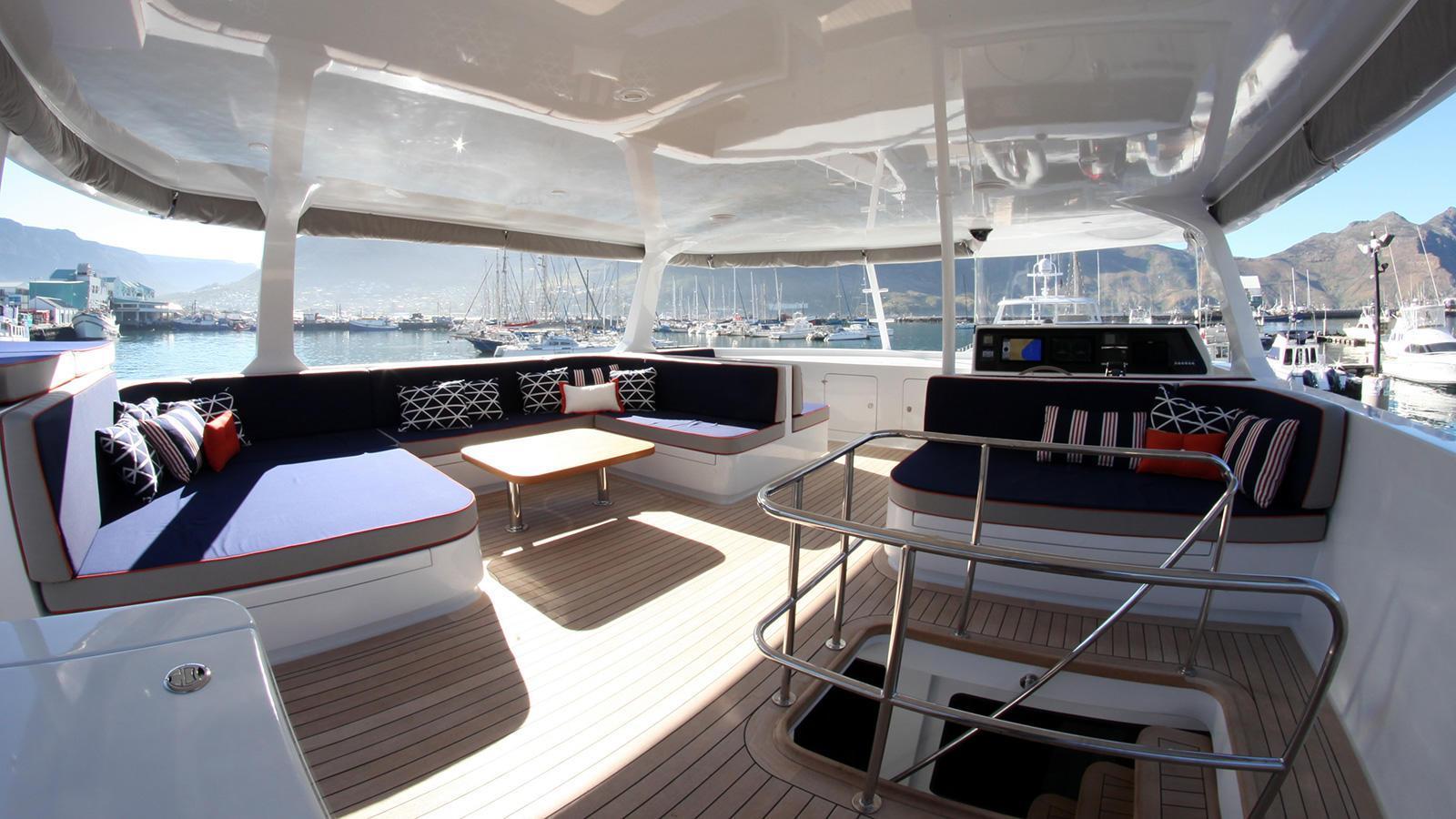 ultra vires catamaran motoryacht two oceans marine 2016 25m sundeck