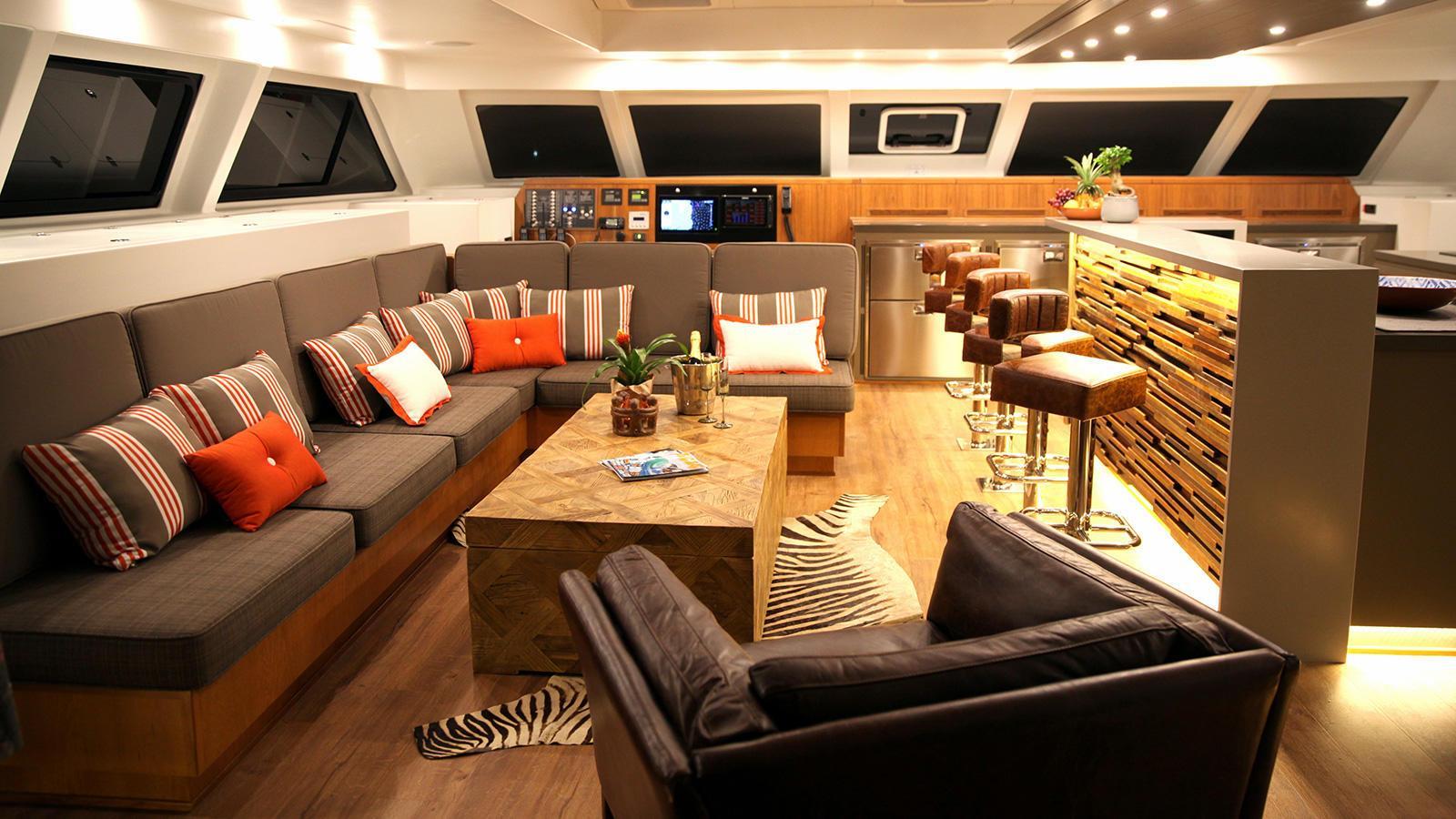 ultra vires catamaran motoryacht two oceans marine 2016 25m lounge