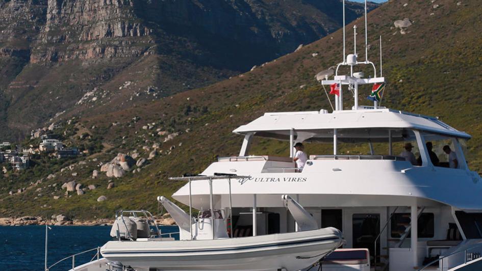 ultra vires catamaran motoryacht two oceans marine 2016 25m running stern