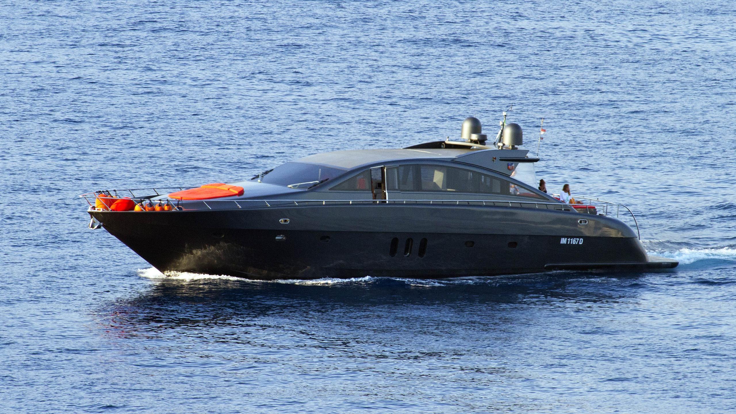 forza 8 motoryacht fp yachts jaguar 24 2004 24m half profile