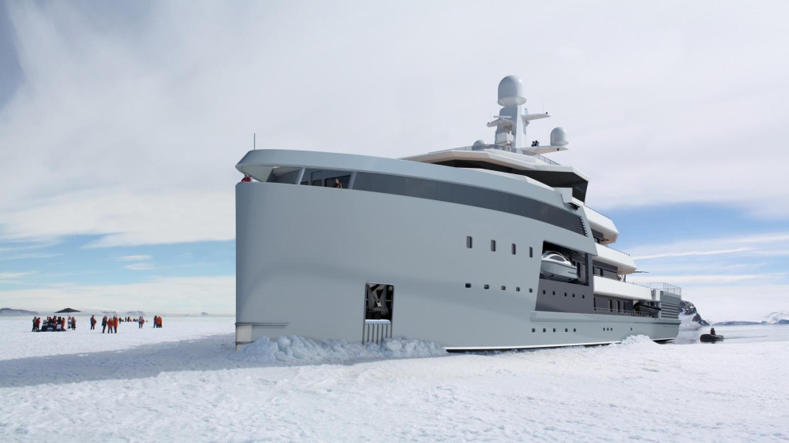 seaxplorer 65 motoryacht damen 2019 65m half profile rendering