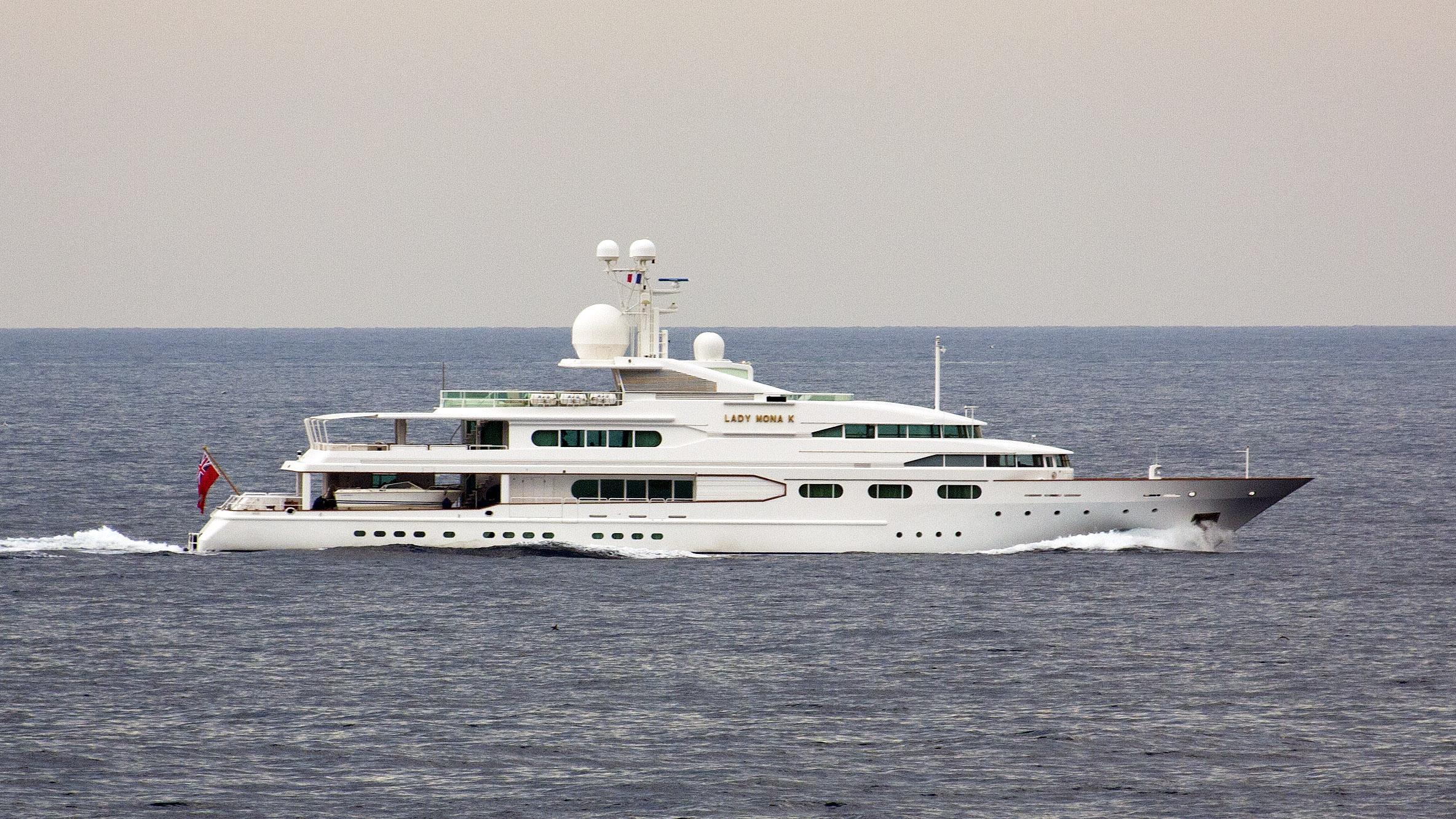 dancing hare lady mona k motor yacht amels 1986 58m cruising profile