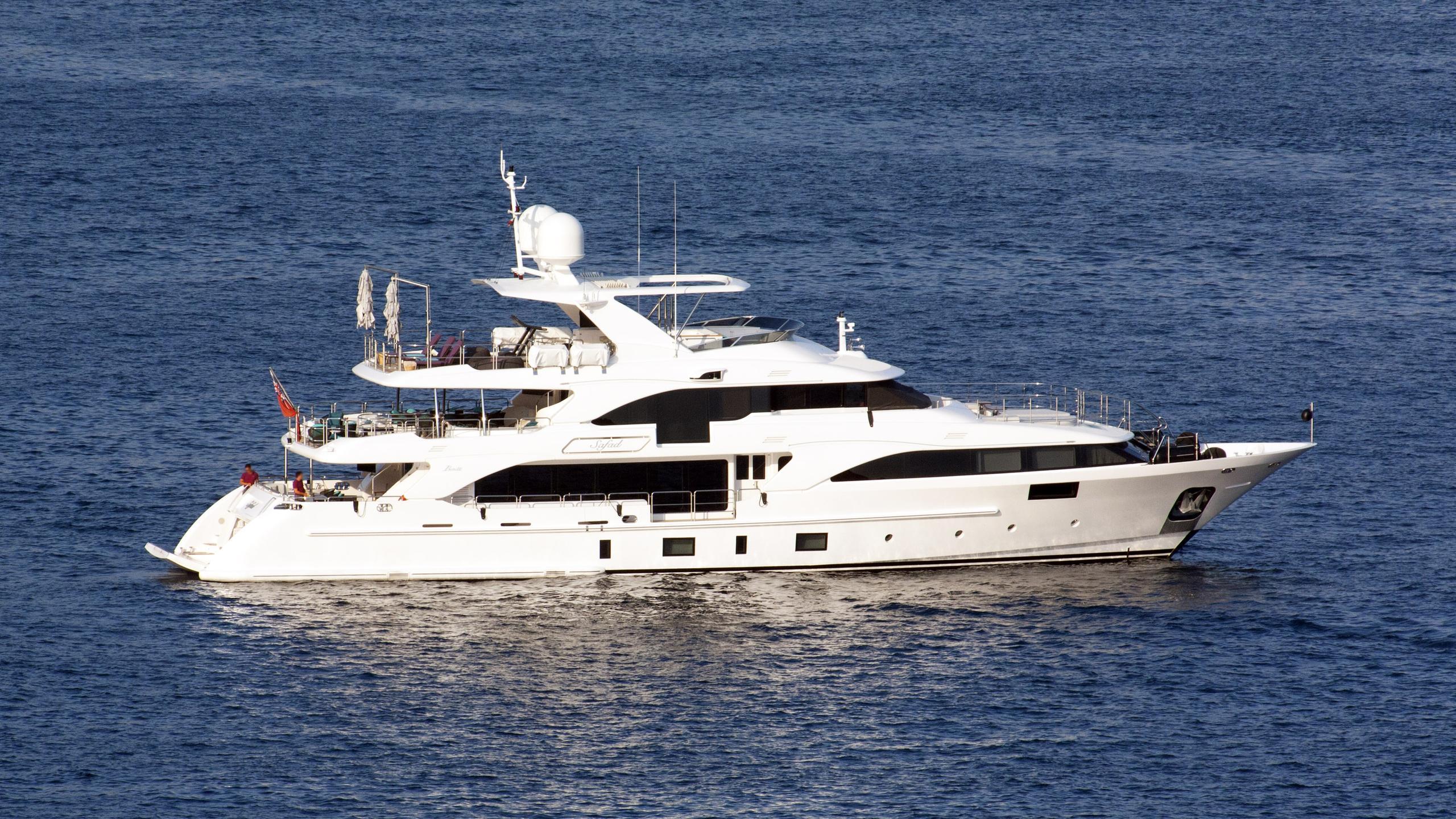 safad motoryacht benetti classic 2015 37m profile