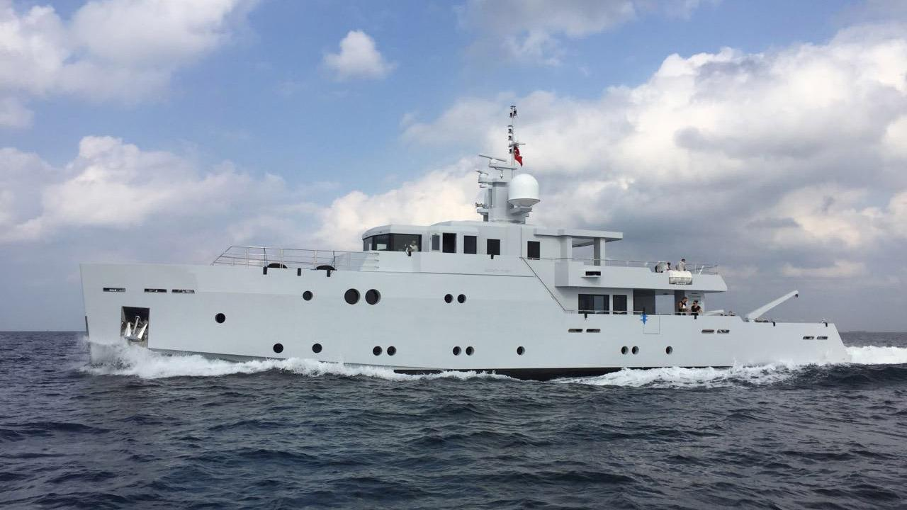 sexy fish motoryacht tansu yachts 2016 39m cruising profile