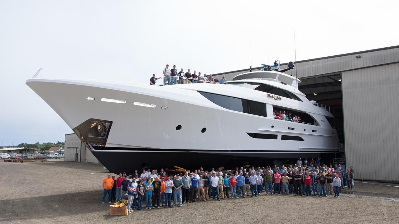 black gold motoryacht westport 2016 38m launch