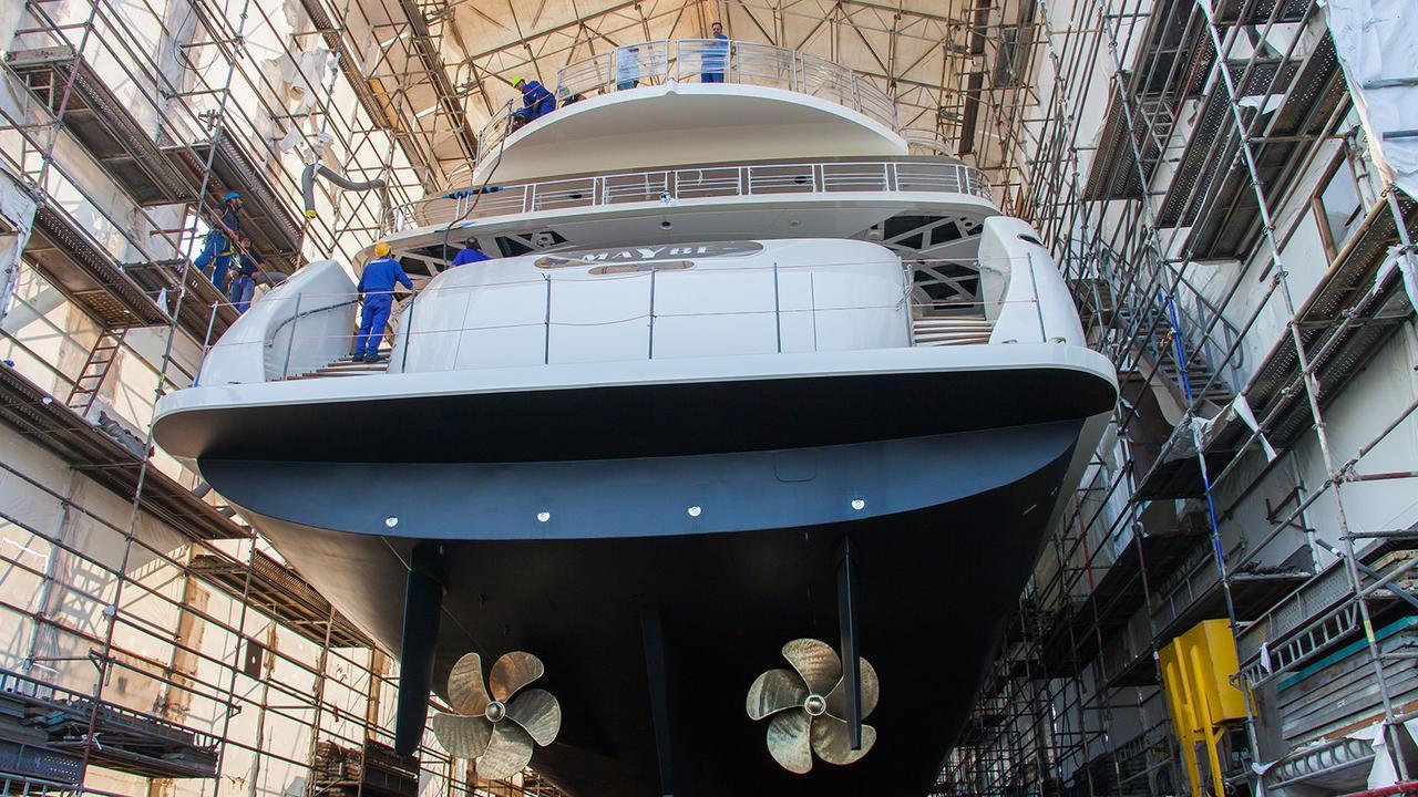 maybe motoryacht metalships 2016 59m stern launch