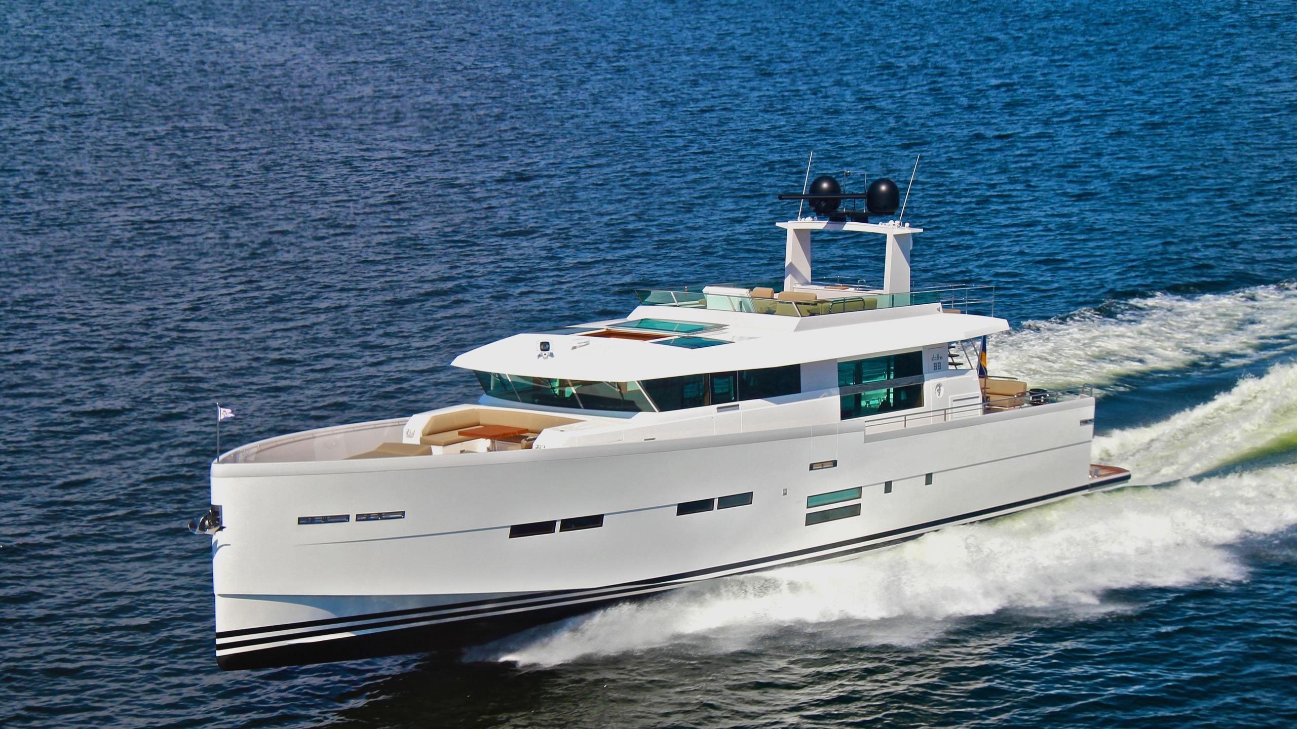 Delta carbon 88 yacht profile