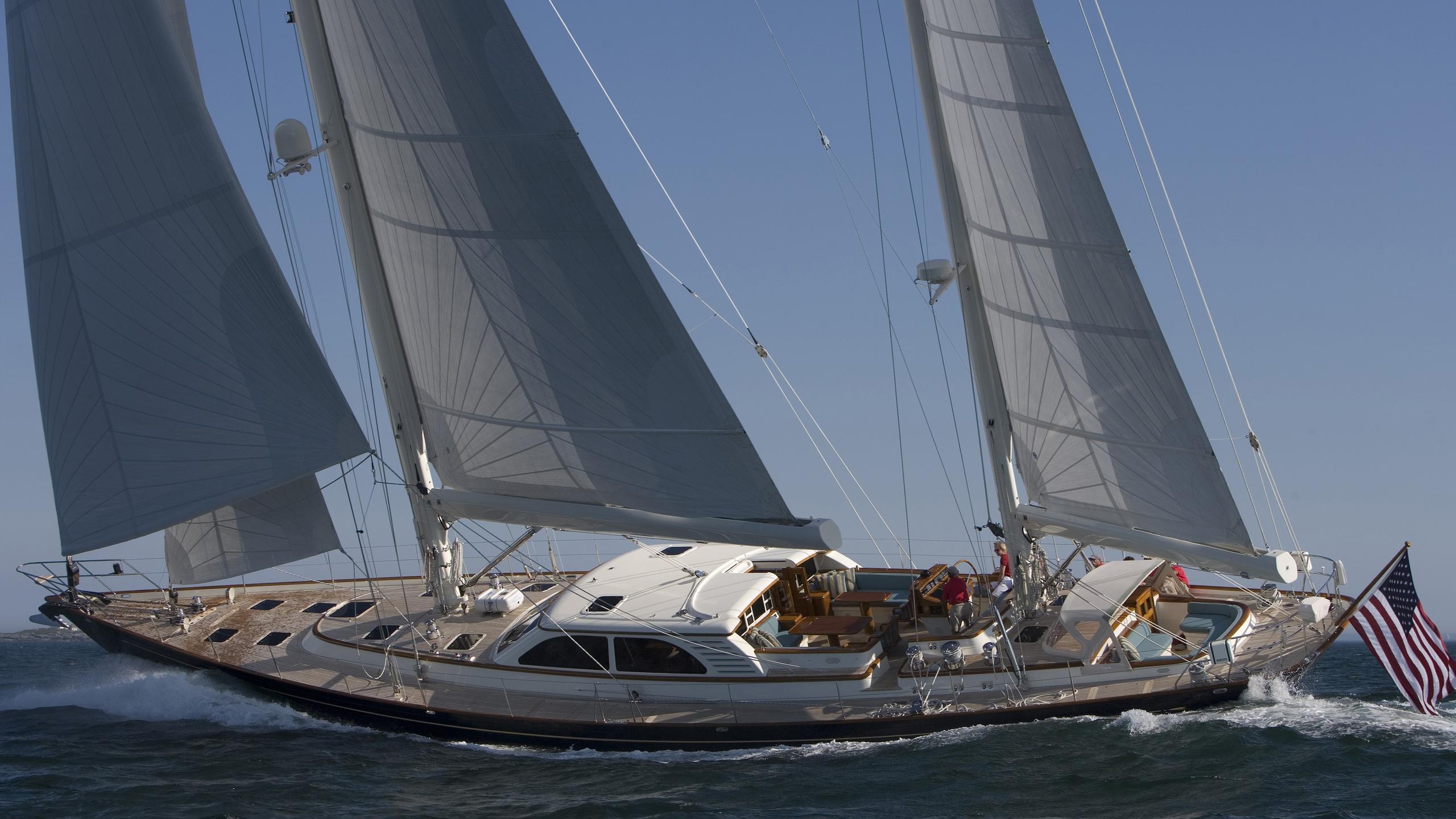 Windcrest sailing yacht