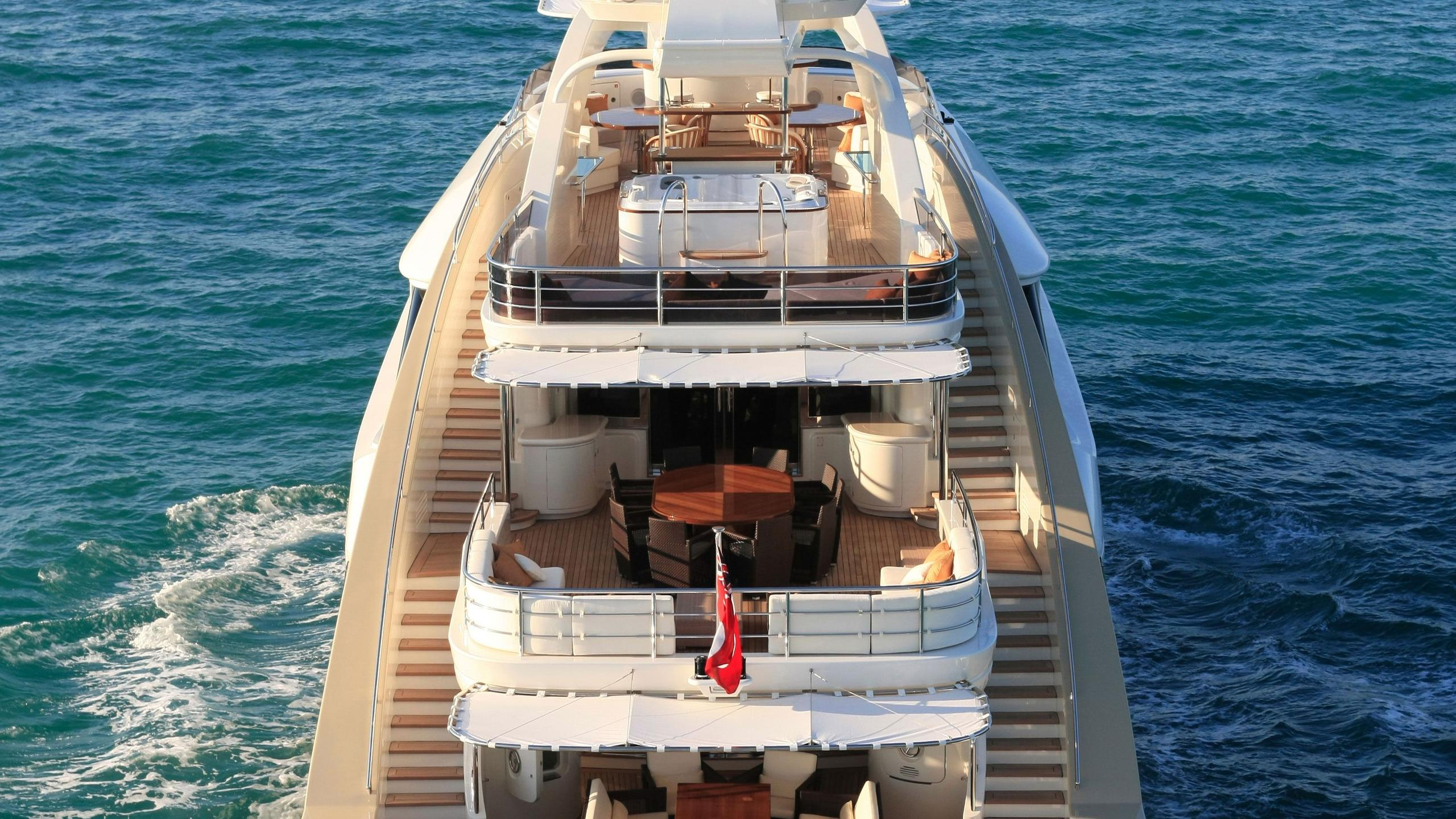 Alexandar V yacht stern