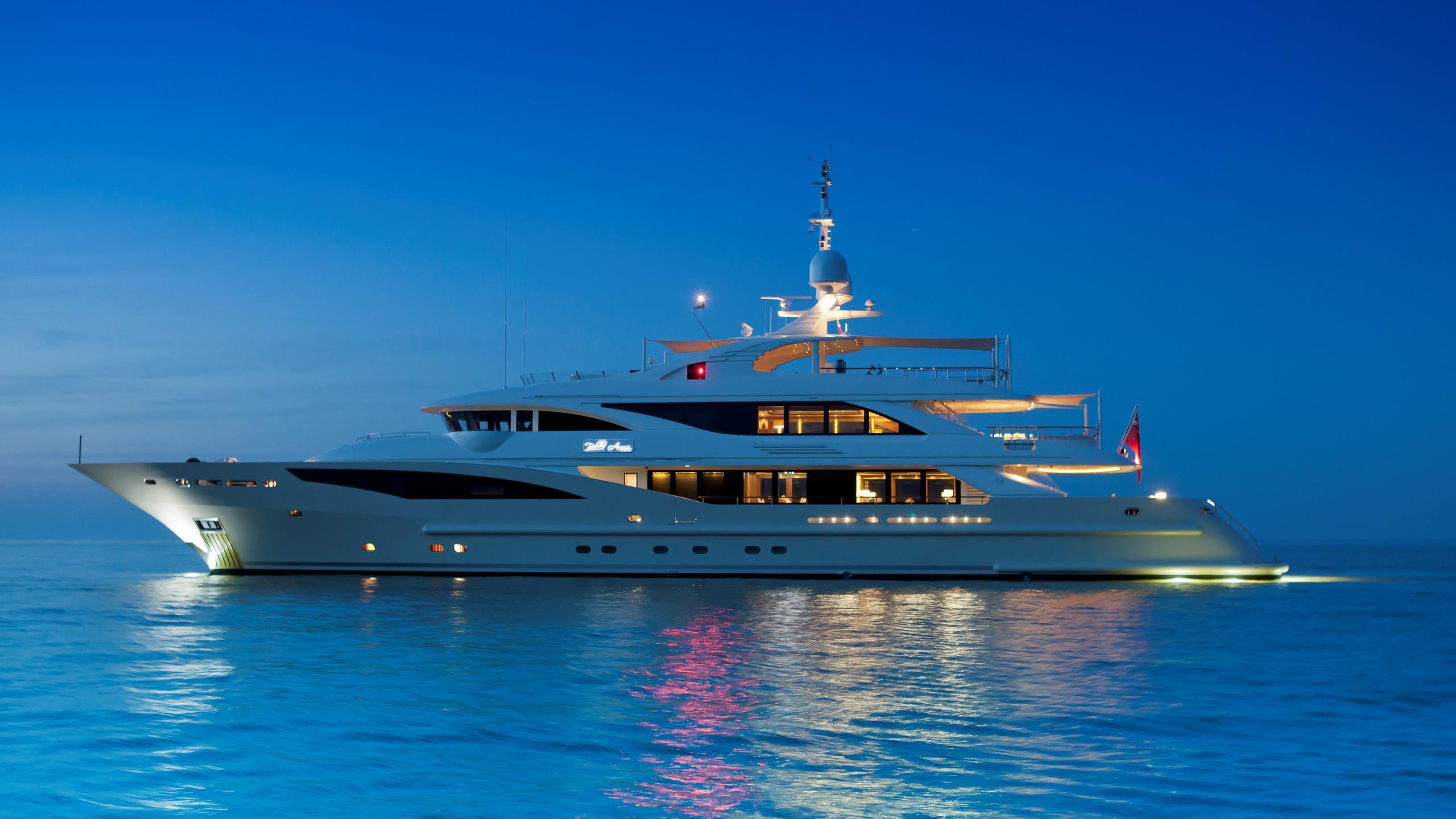 Belle Anna yacht profile