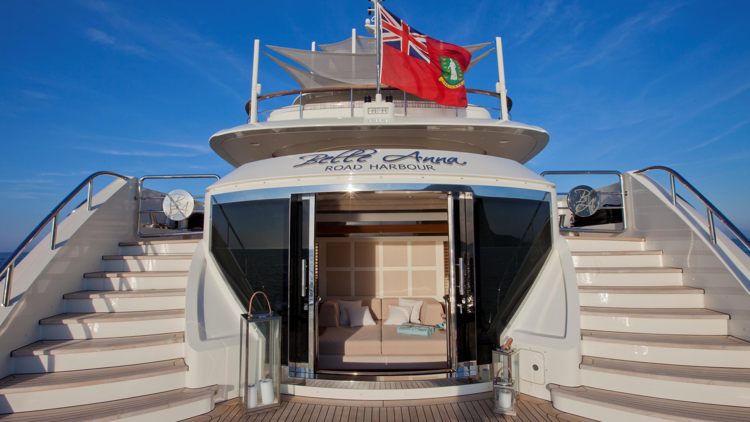 Belle Anna yacht beach club