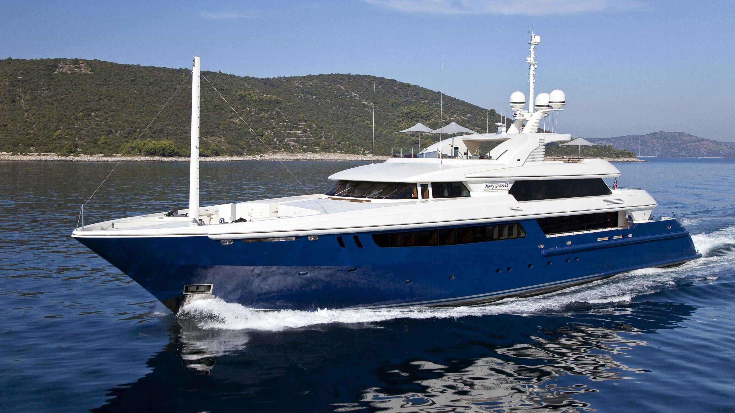 Mary Jean II yacht profile