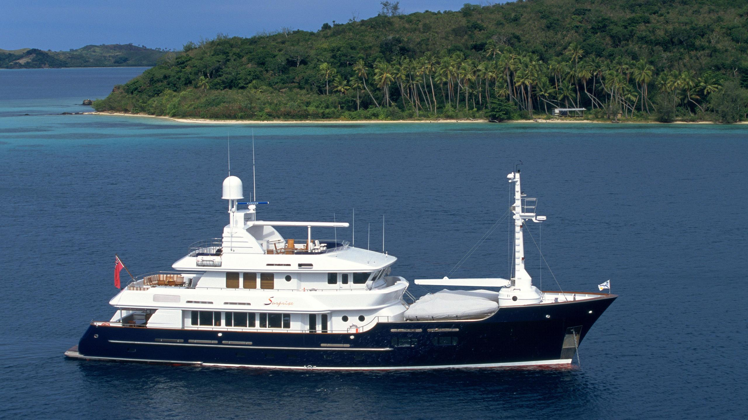 Koi yacht profile