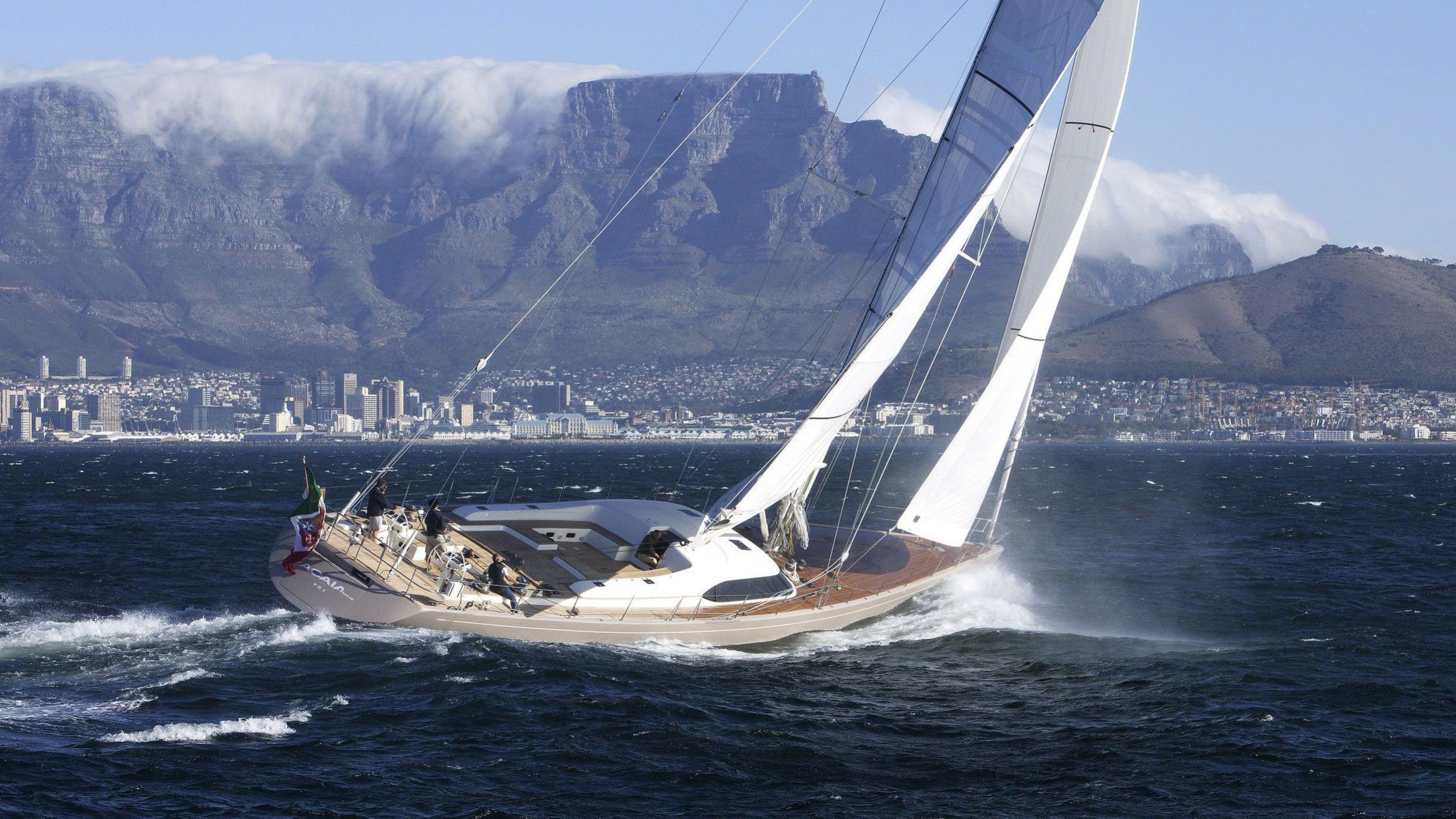 Acaia Four sailing yacht