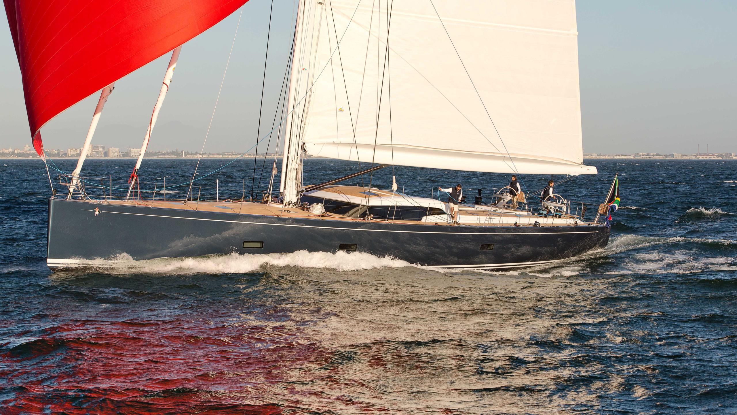 Hevea sailing yacht