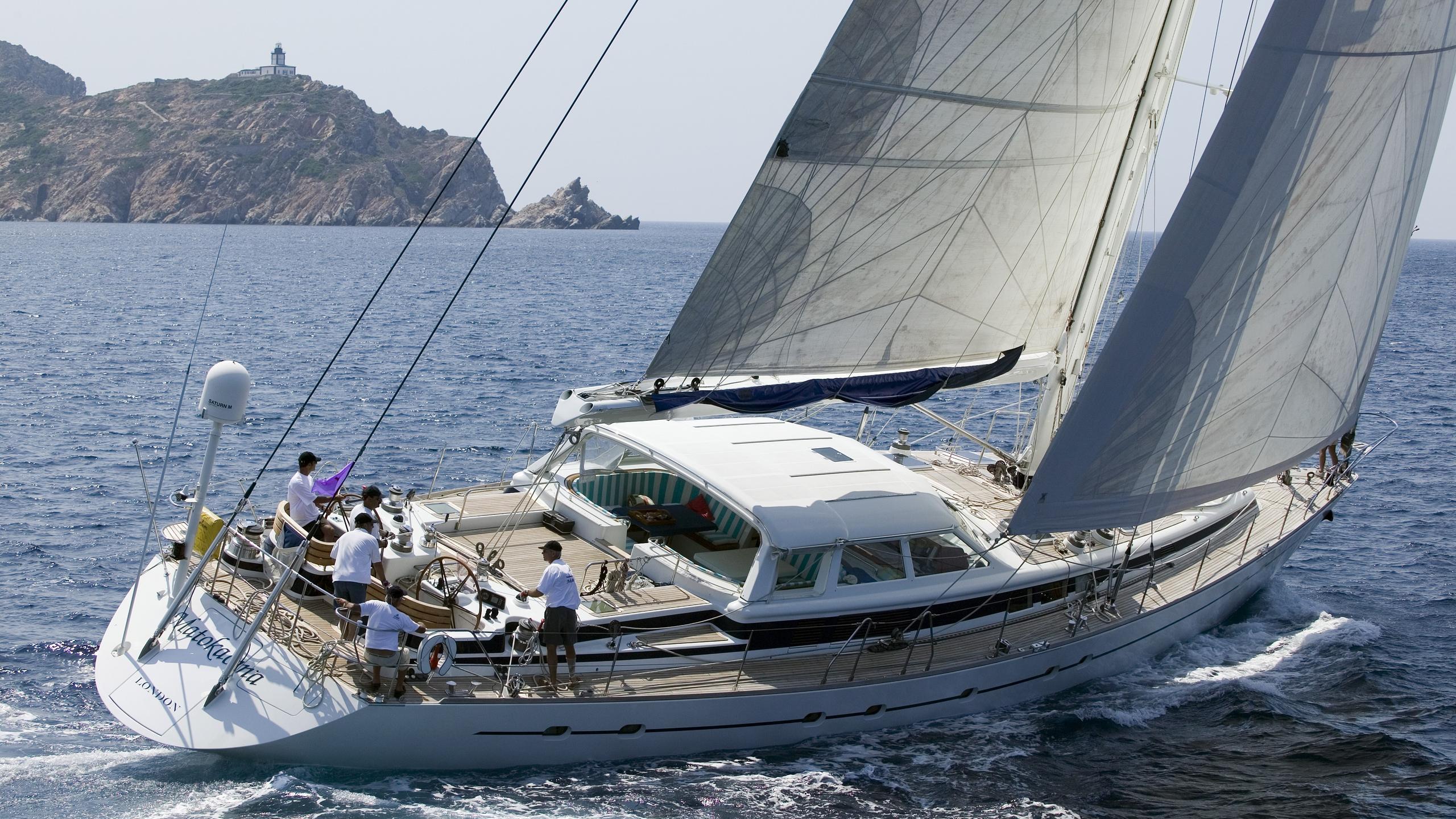 Matakamoa yacht