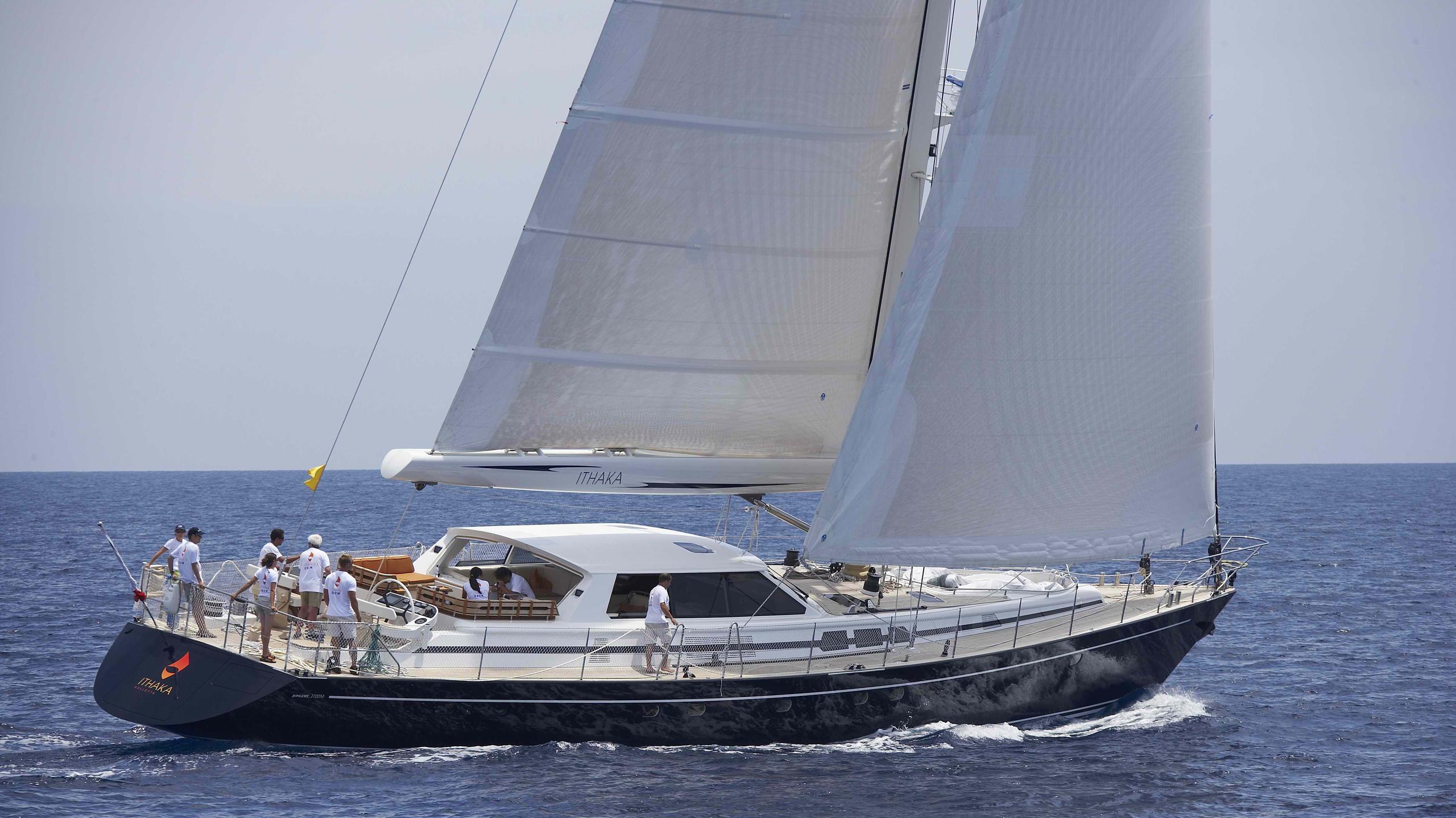 Ithaka yacht sailing