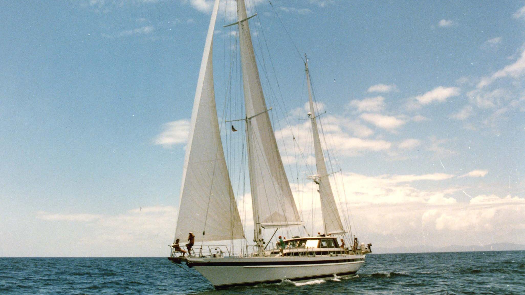 aneta jade s sailing yacht jongert 29m 1985 half profile