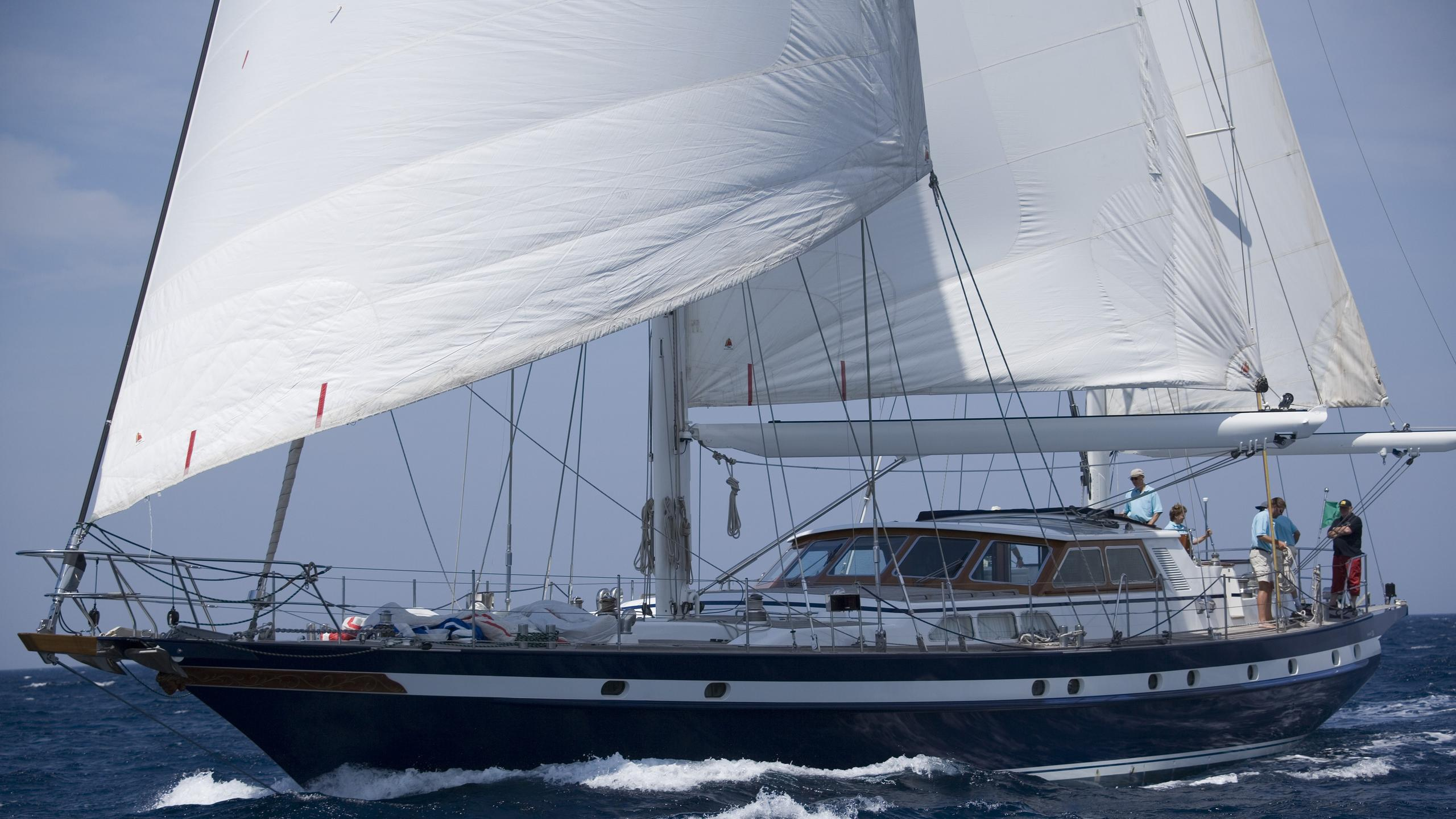 Black Molly III yacht sailing